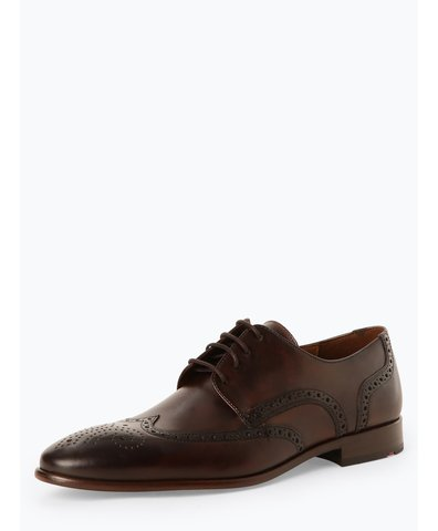 Męskie buty sznurowane ze skóry – Monte