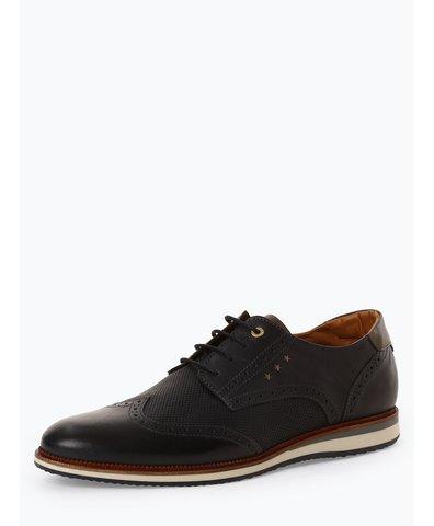 Męskie buty sznurowane ze skóry – Rubicon Uomo Low