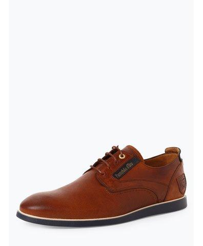 Męskie buty sznurowane ze skóry – Urbino