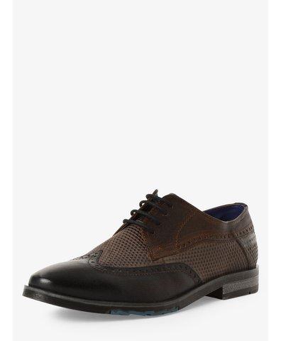 Męskie buty sznurowane ze skóry