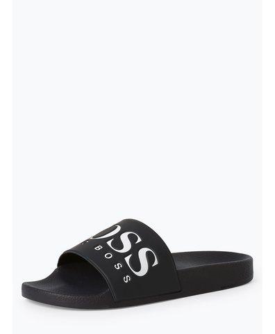 Męskie pantofle kąpielowe – Solar_Slid_logo