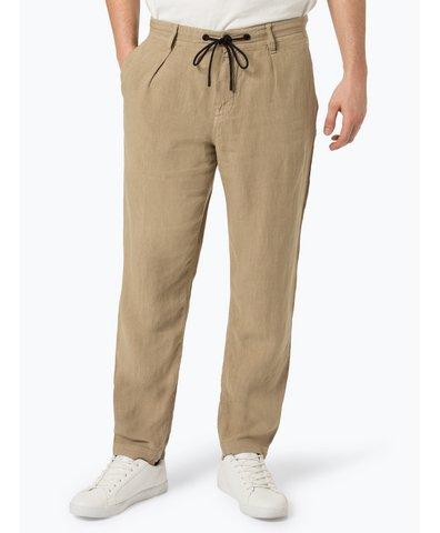 Męskie spodnie lniane – Symoon