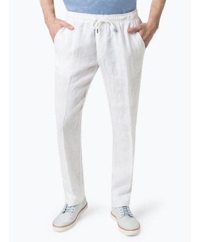 Męskie spodnie lniane