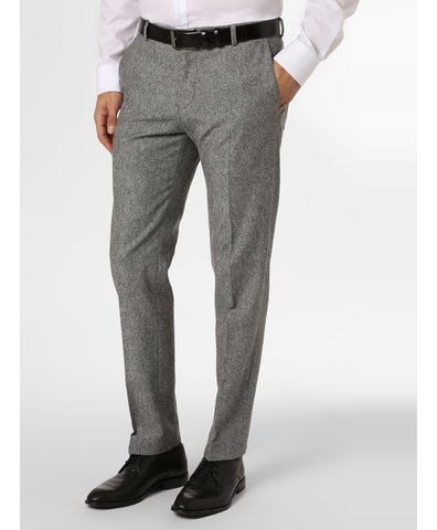 Męskie spodnie od garnituru modułowego z dodatkiem jedwabiu – Mercer