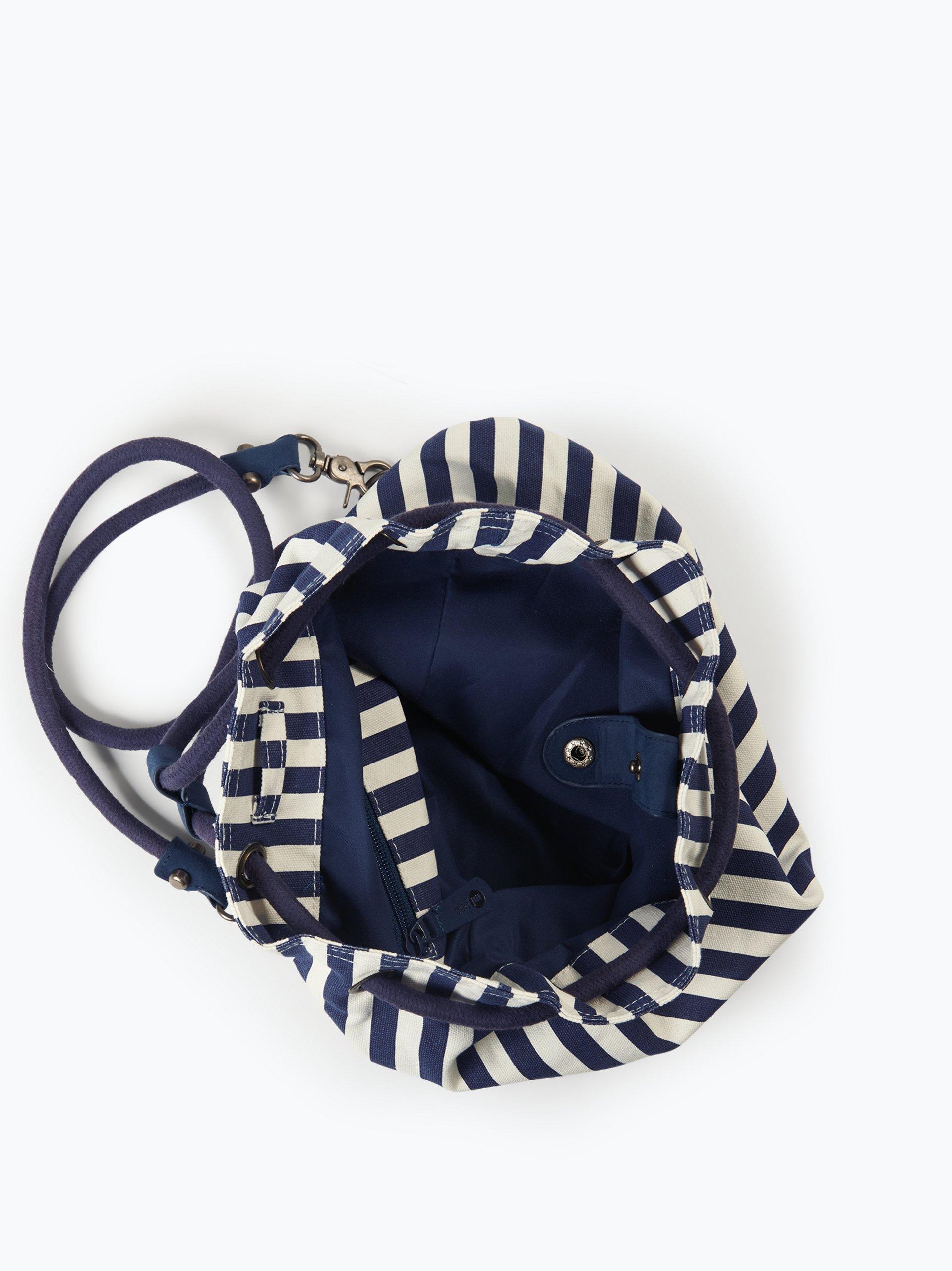 mipac damen rucksack blau gestreift online kaufen peek und cloppenburg de. Black Bedroom Furniture Sets. Home Design Ideas