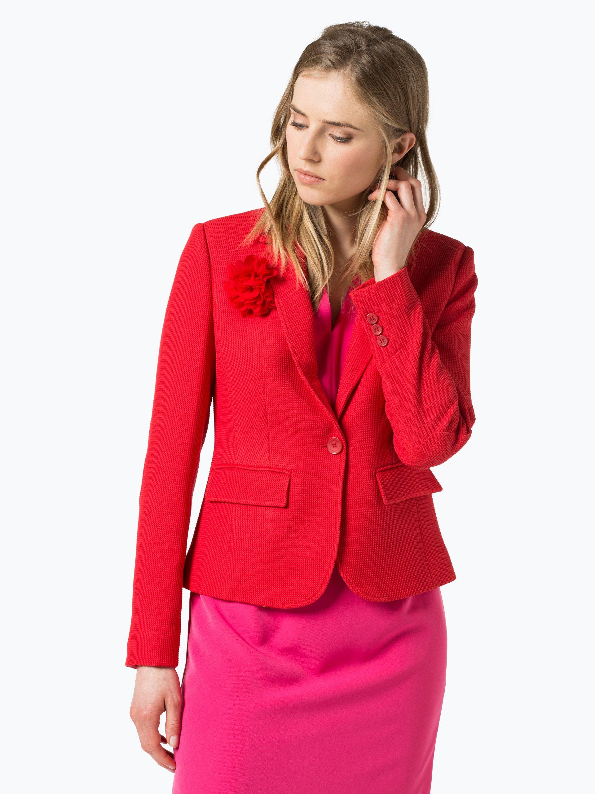 more more damen blazer rot uni online kaufen peek und cloppenburg de. Black Bedroom Furniture Sets. Home Design Ideas