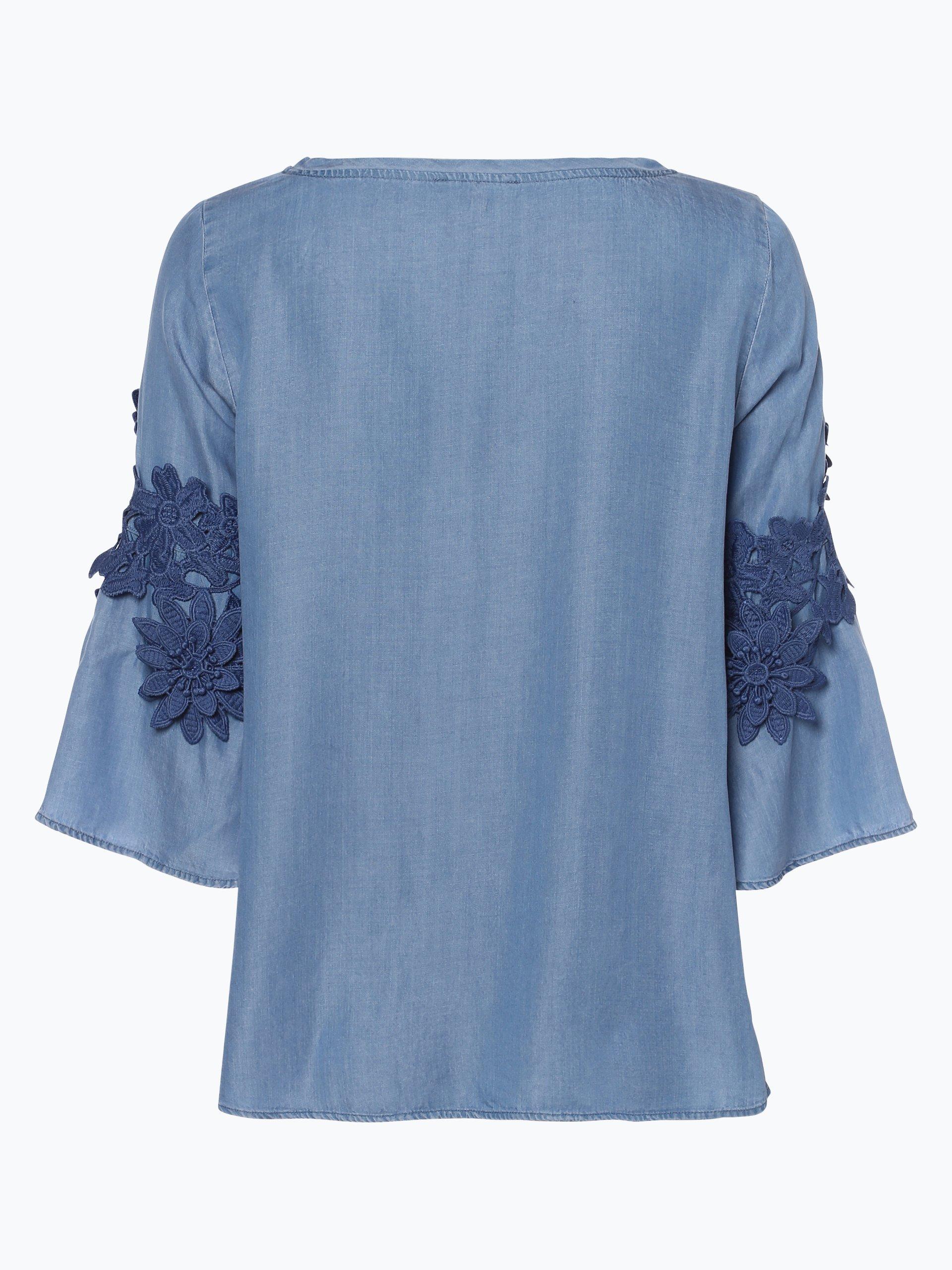 more more damen bluse blau uni online kaufen peek und cloppenburg de. Black Bedroom Furniture Sets. Home Design Ideas