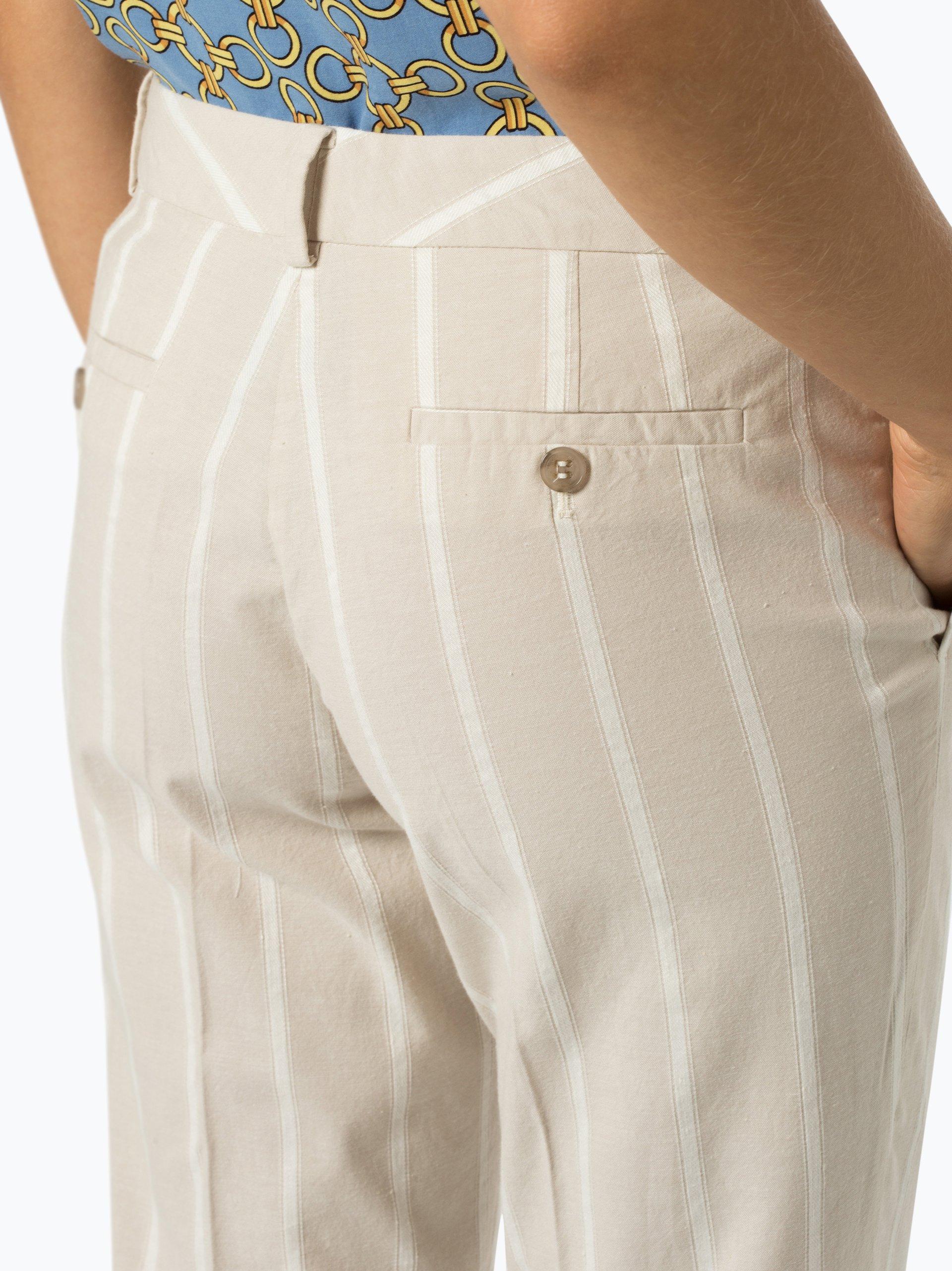 More & More Damen Hose mit Leinen-Anteil