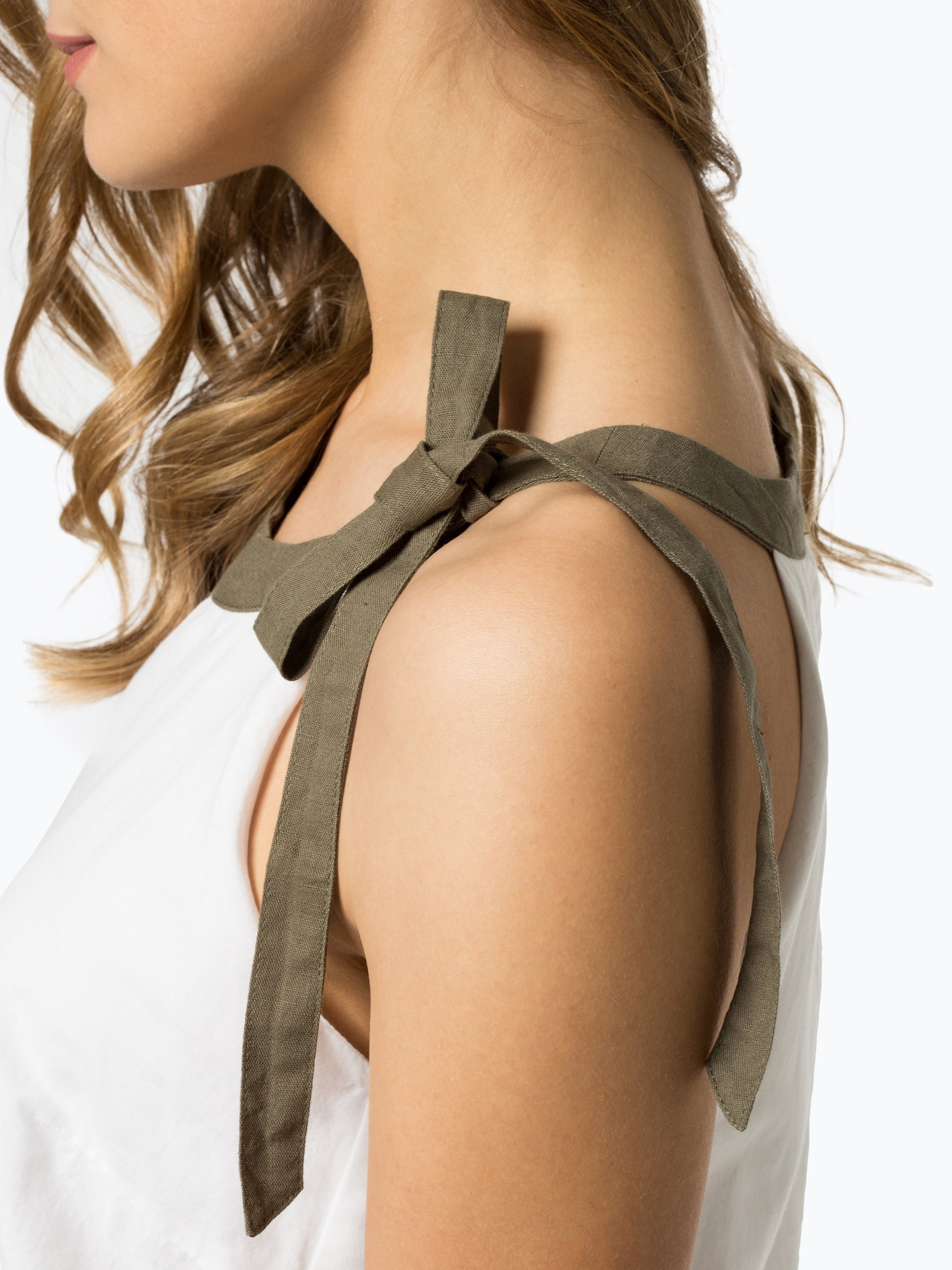 More & More Damen Kleid mit Leinen-Anteil