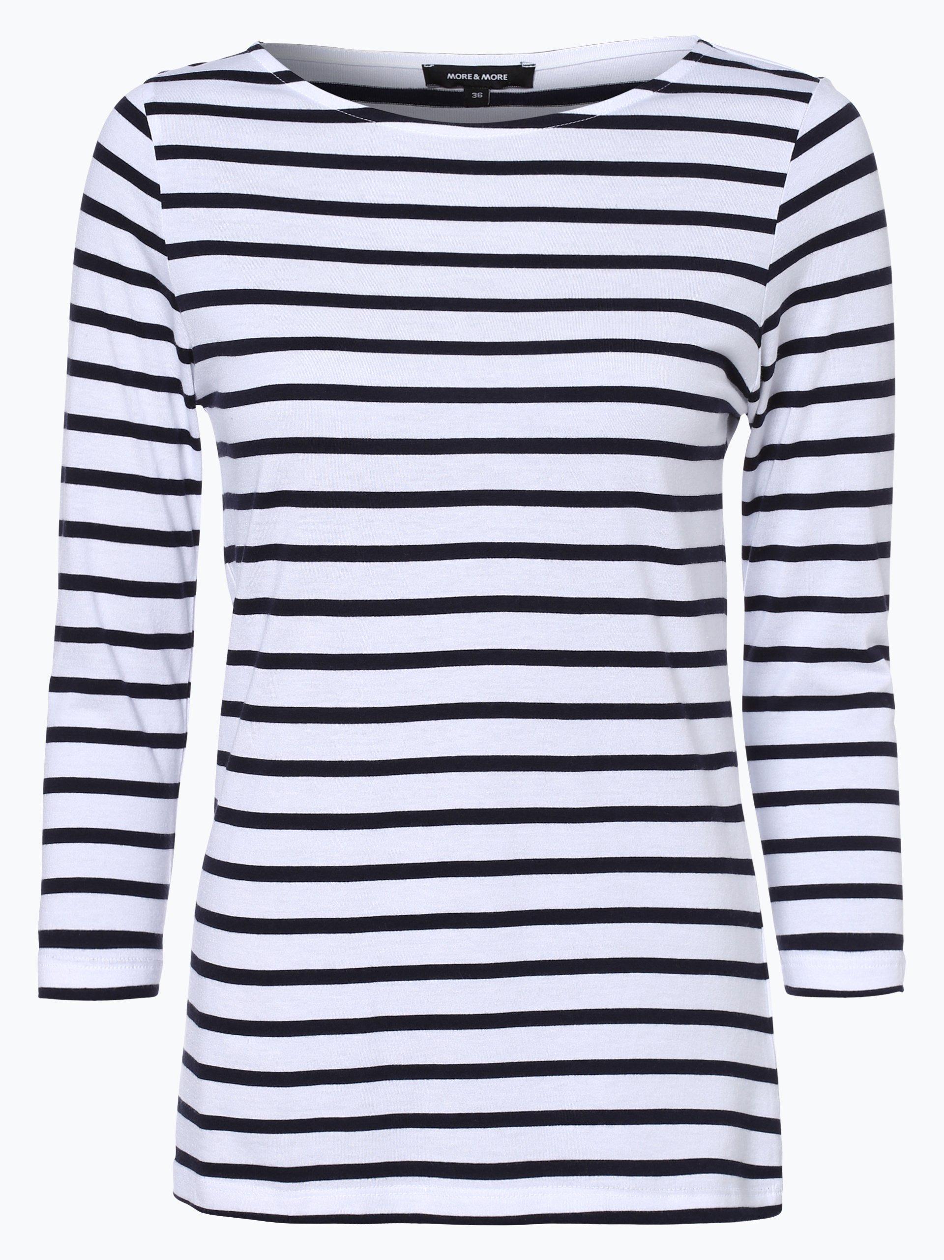 More & More Damen Langarmshirt