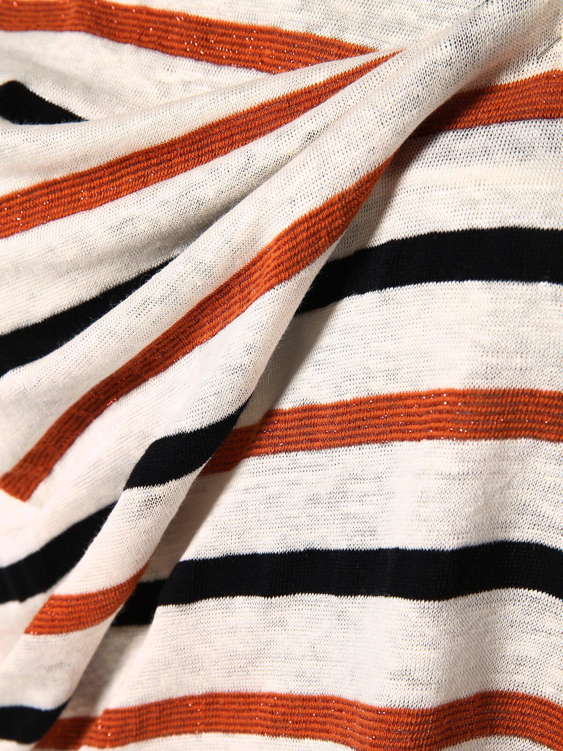 More & More Damen T-Shirt mit Leinen-Anteil