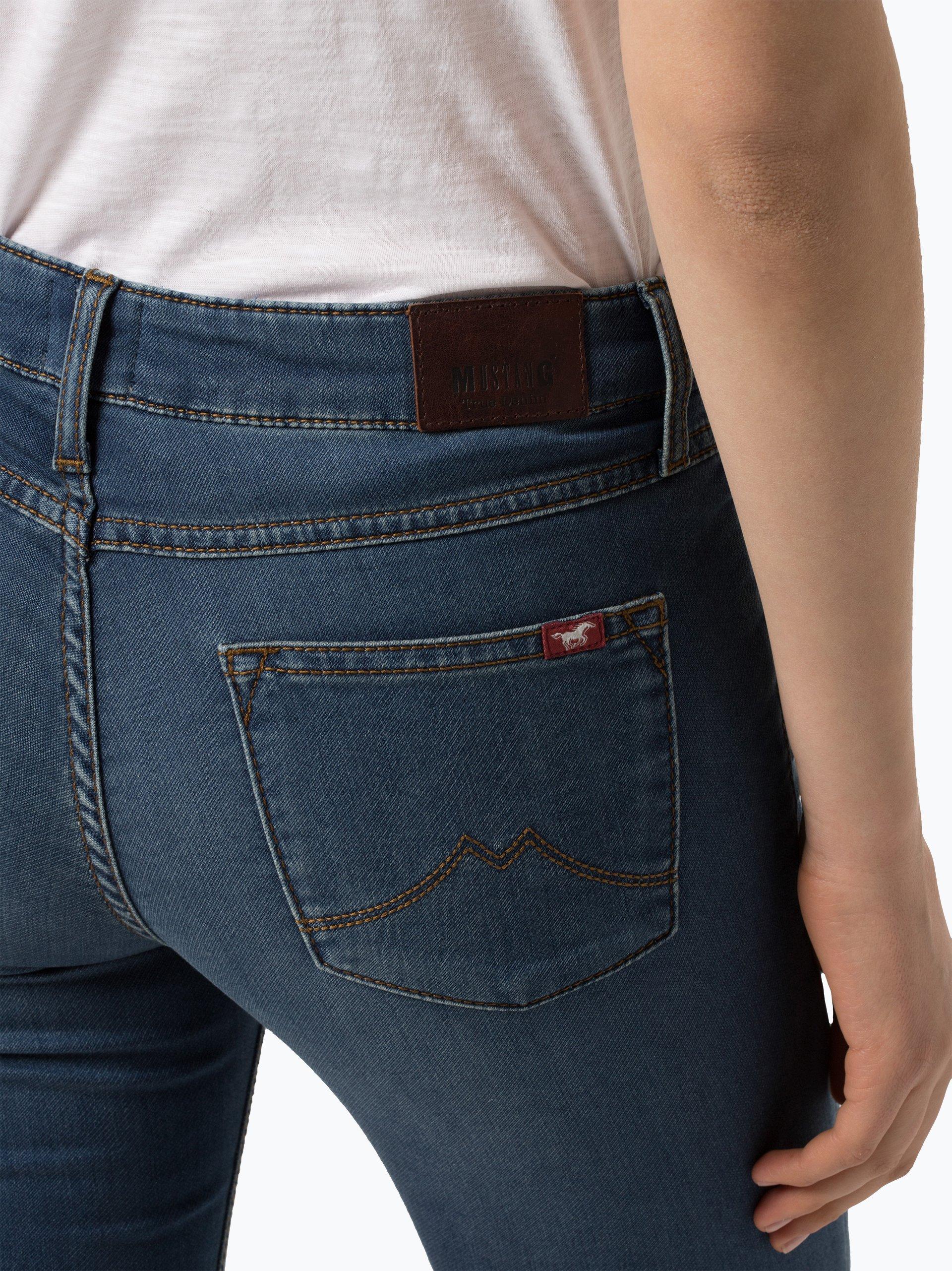 mustang damen jeans jasmin 7 8 online kaufen vangraaf com. Black Bedroom Furniture Sets. Home Design Ideas
