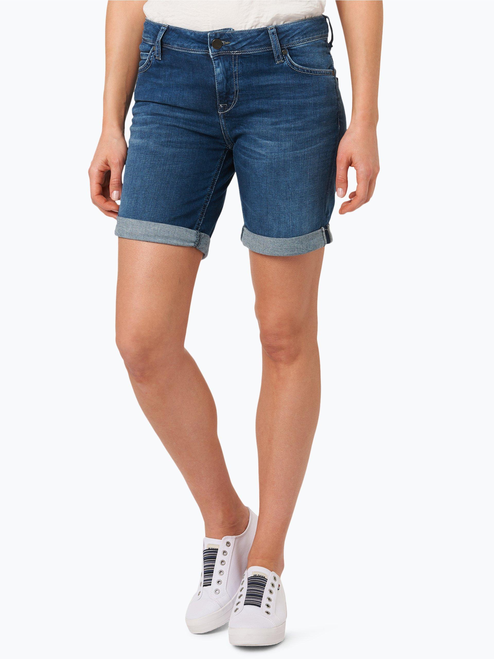 mustang damen jeans shorts bermuda medium stone uni online kaufen vangraaf com. Black Bedroom Furniture Sets. Home Design Ideas