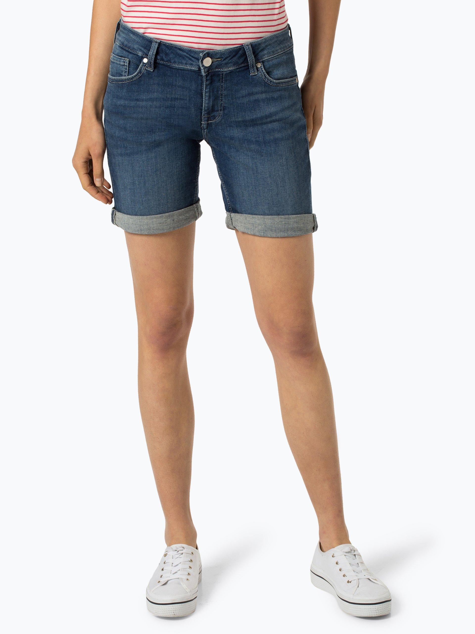 Mustang Damskie krótkie spodenki jeansowe