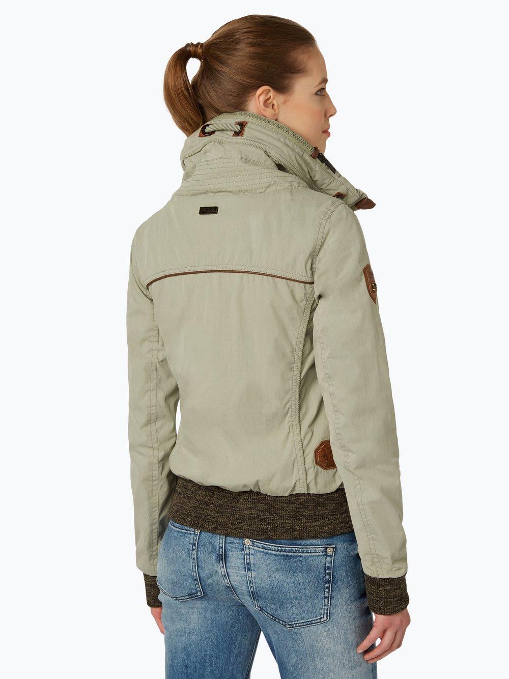 NAKETANO Du Muss Straff Sein Jacke für Damen Beige