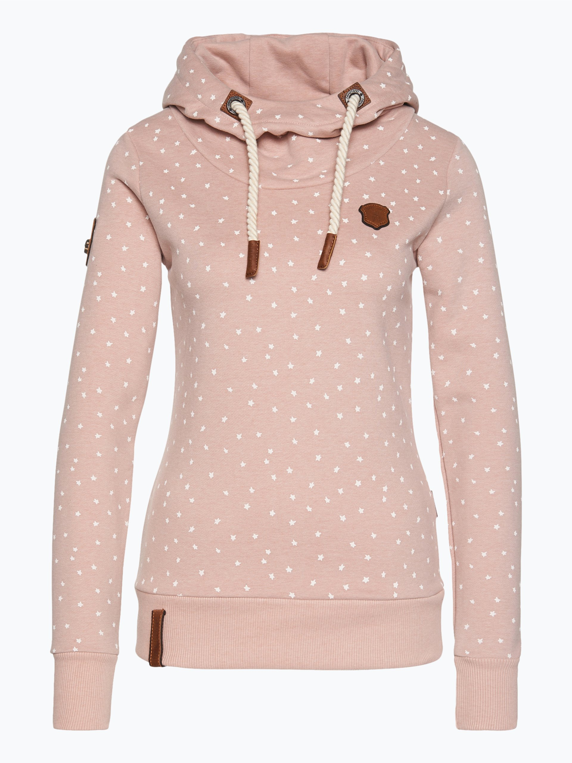 naketano damen sweatshirt put the d on me rosa gemustert online kaufen vangraaf com. Black Bedroom Furniture Sets. Home Design Ideas