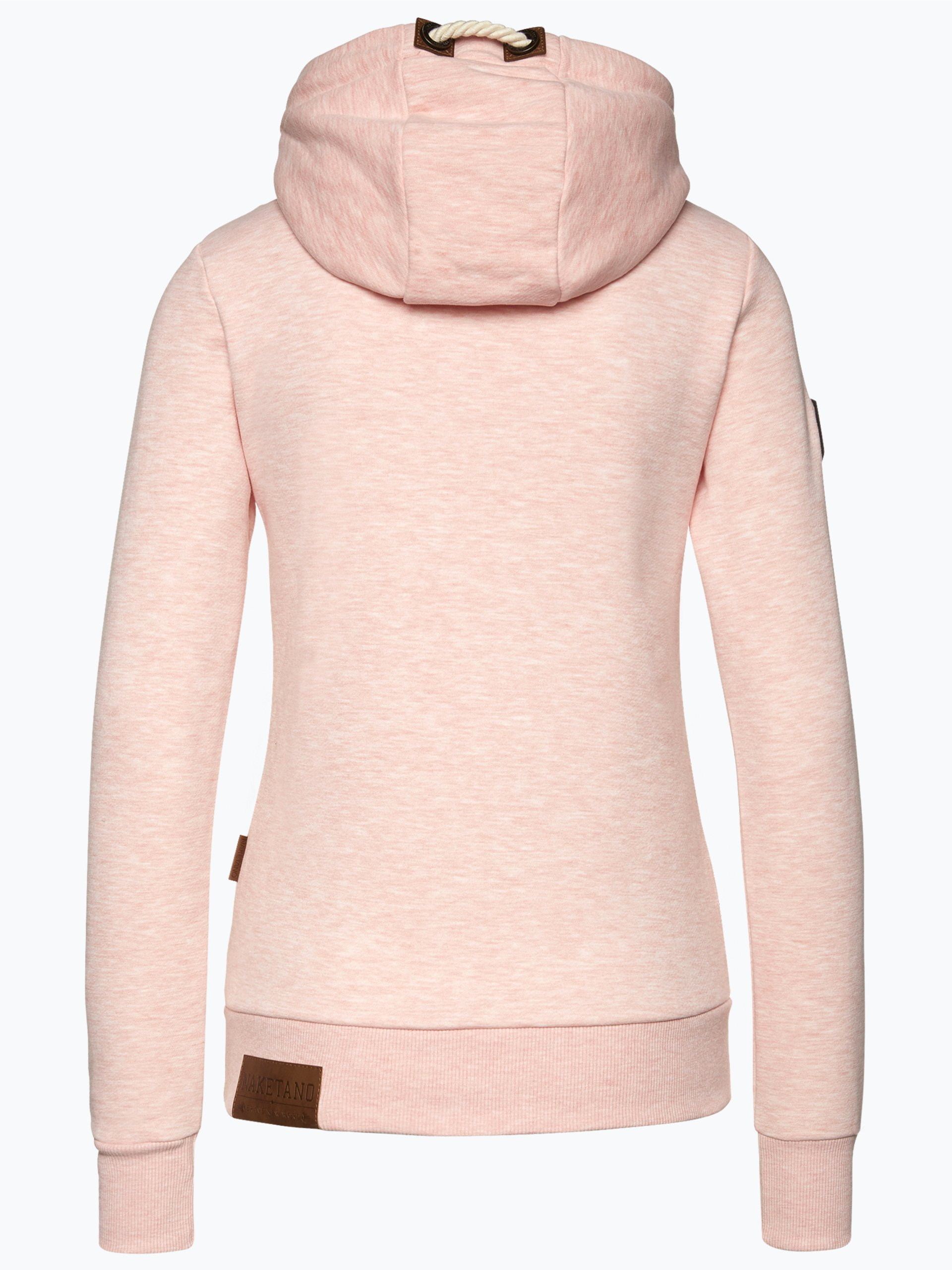 naketano damen sweatshirt rosa uni online kaufen vangraaf com. Black Bedroom Furniture Sets. Home Design Ideas