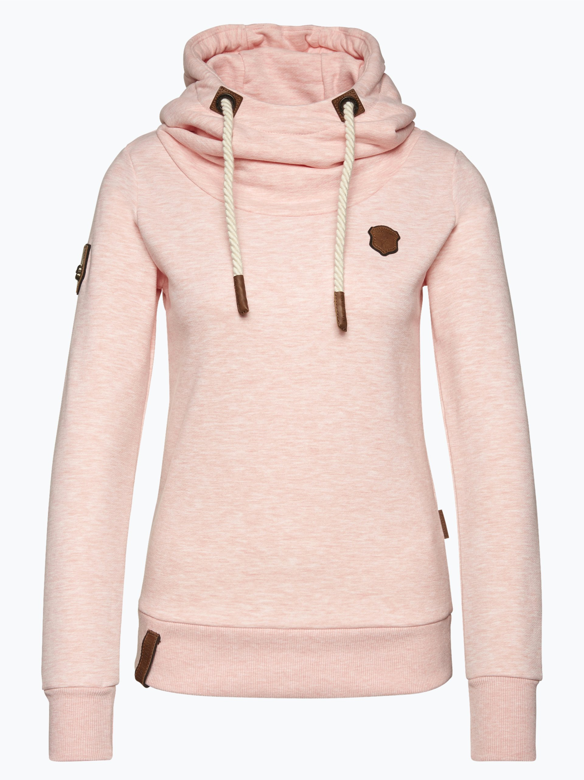 naketano damen sweatshirt rosa uni online kaufen peek und cloppenburg de. Black Bedroom Furniture Sets. Home Design Ideas