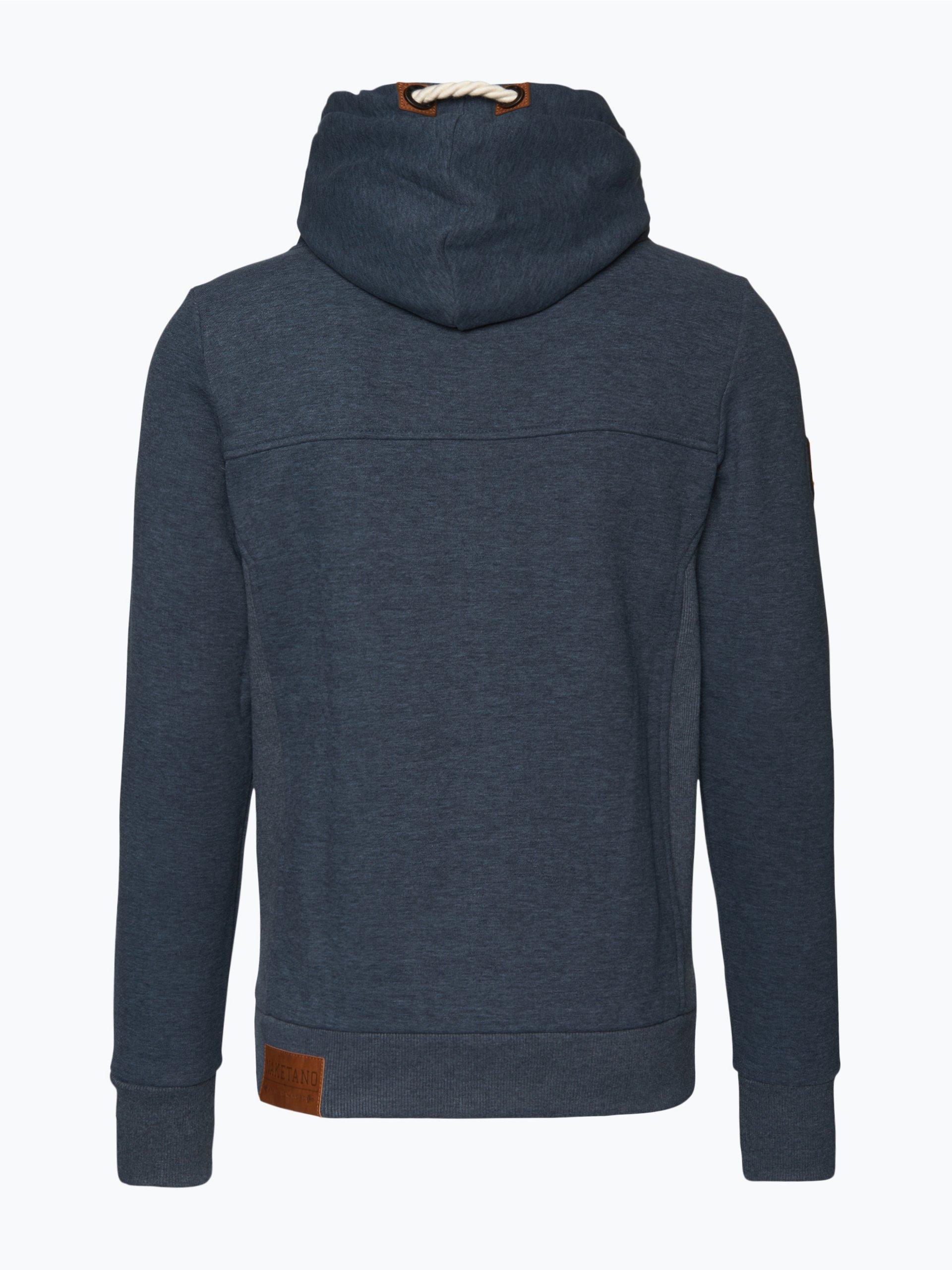 naketano herren sweatshirt pommes im weltall viii indigo. Black Bedroom Furniture Sets. Home Design Ideas