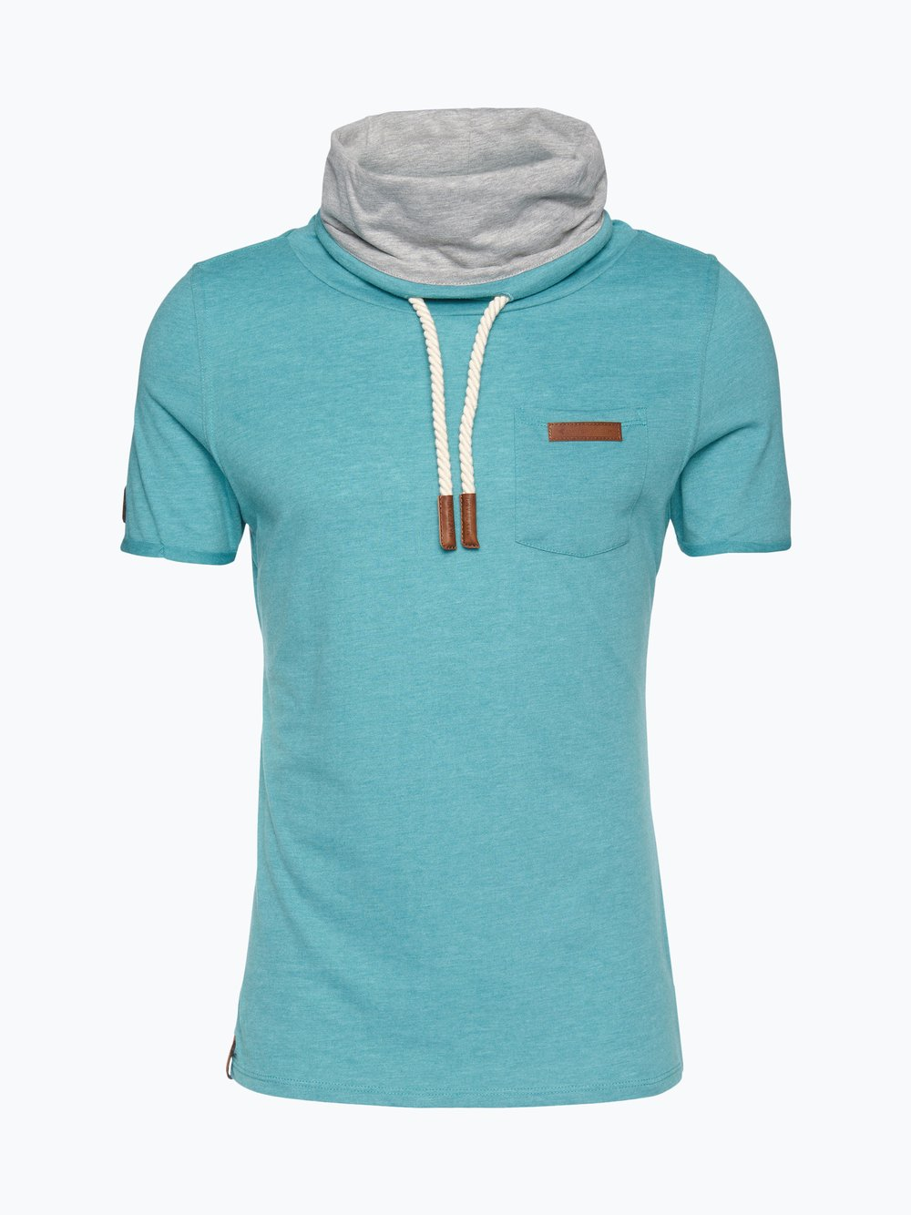 Naketano Herren T Shirt Fat Tony IX grün uni online kaufen