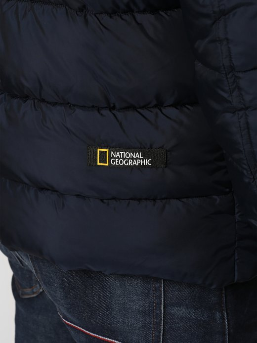 NATIONAL GEOGRAPHIC Steppjacke aus recyceltem Material in