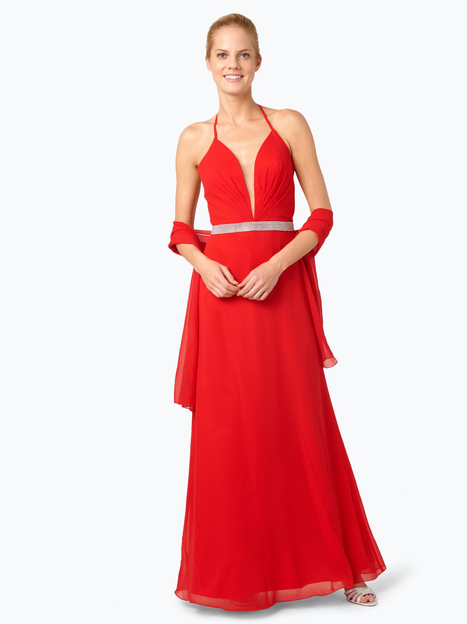 Kleid niente rot