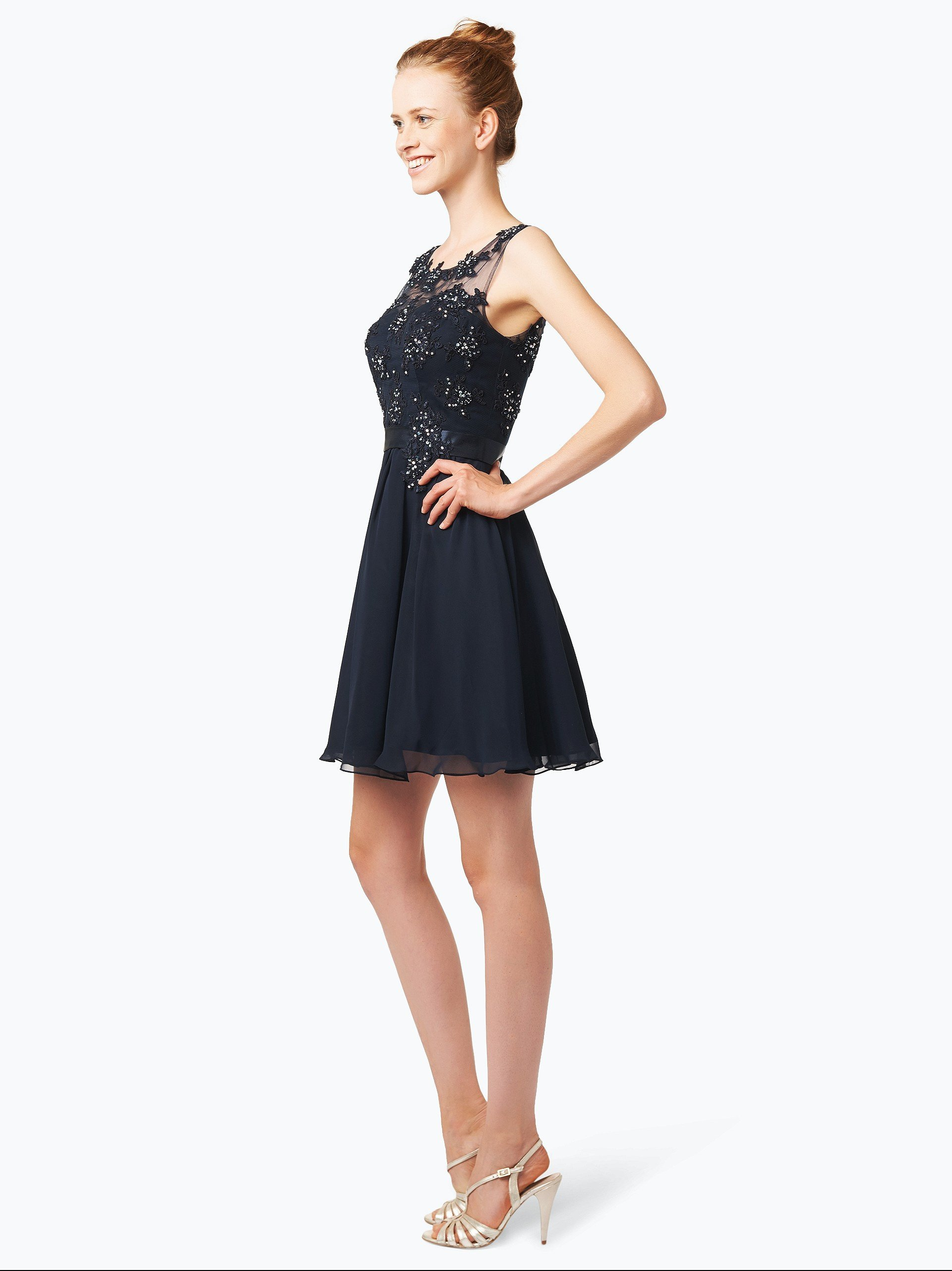 Niente Elegancka sukienka damska z etolą