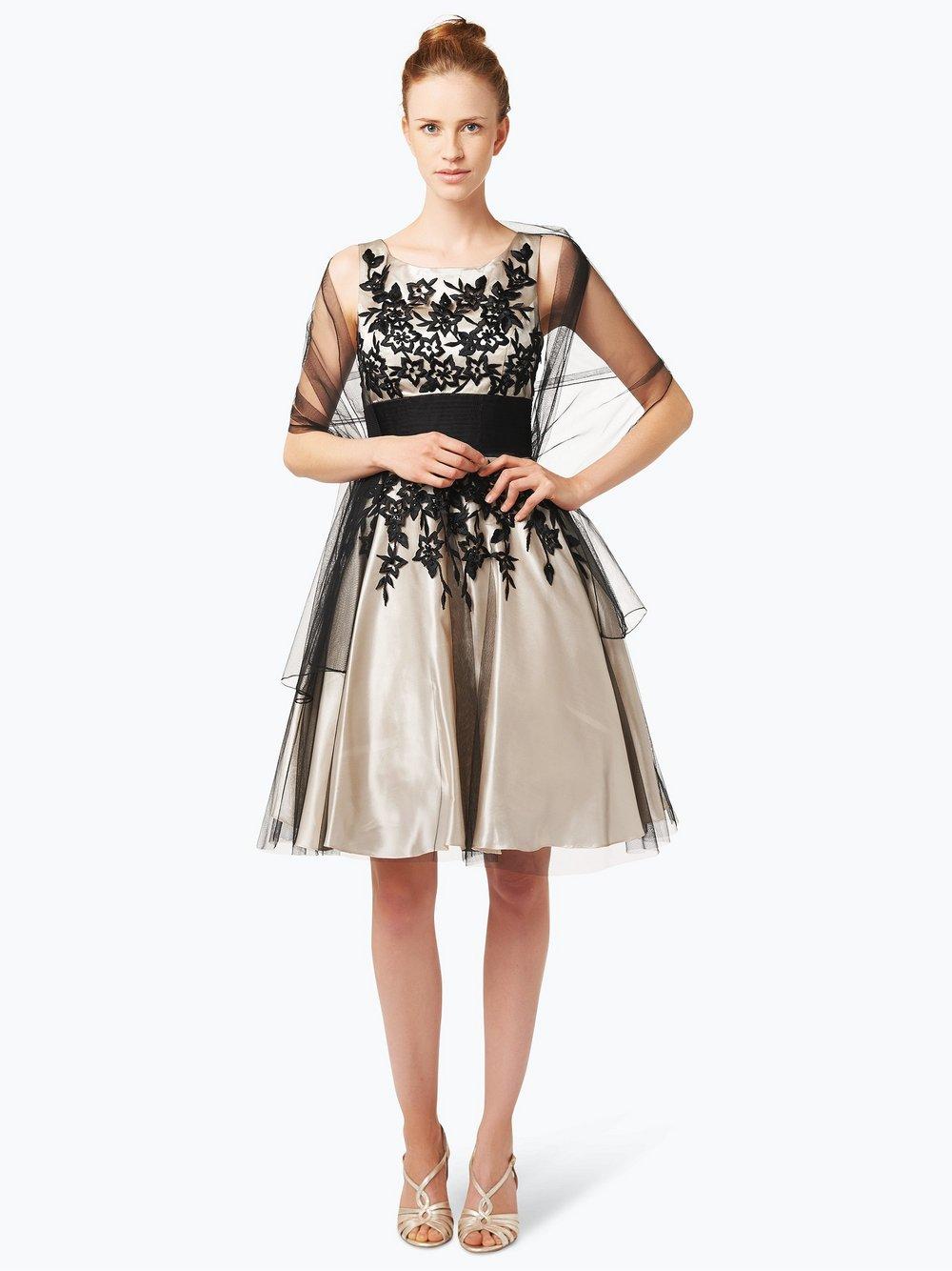 3893b02255f1 Niente Festliches Damenkleid mit Stola online kaufen | PEEK-UND ...