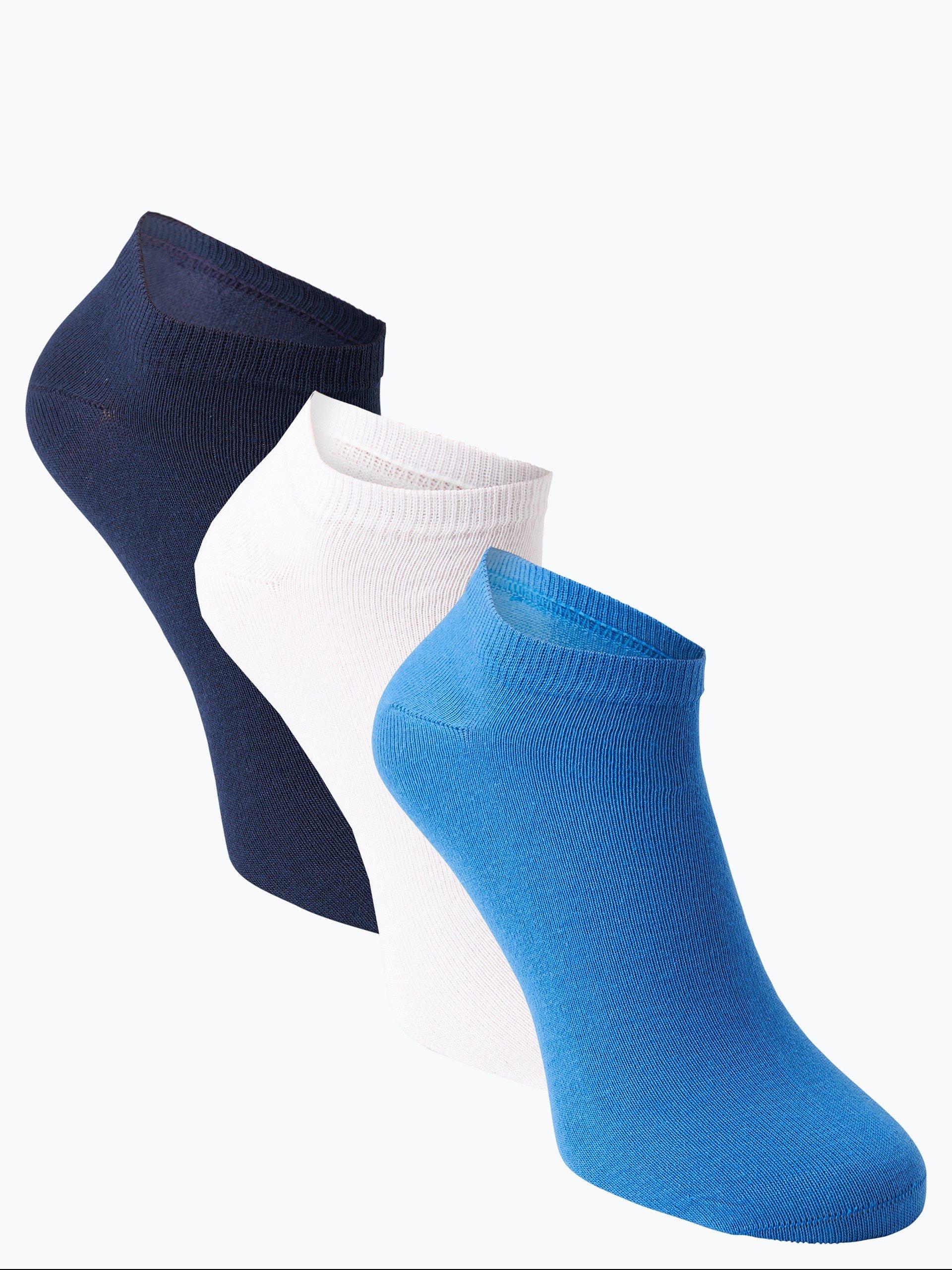 Nils Sundström Herren Sneaker-Socken im 3er-Pack