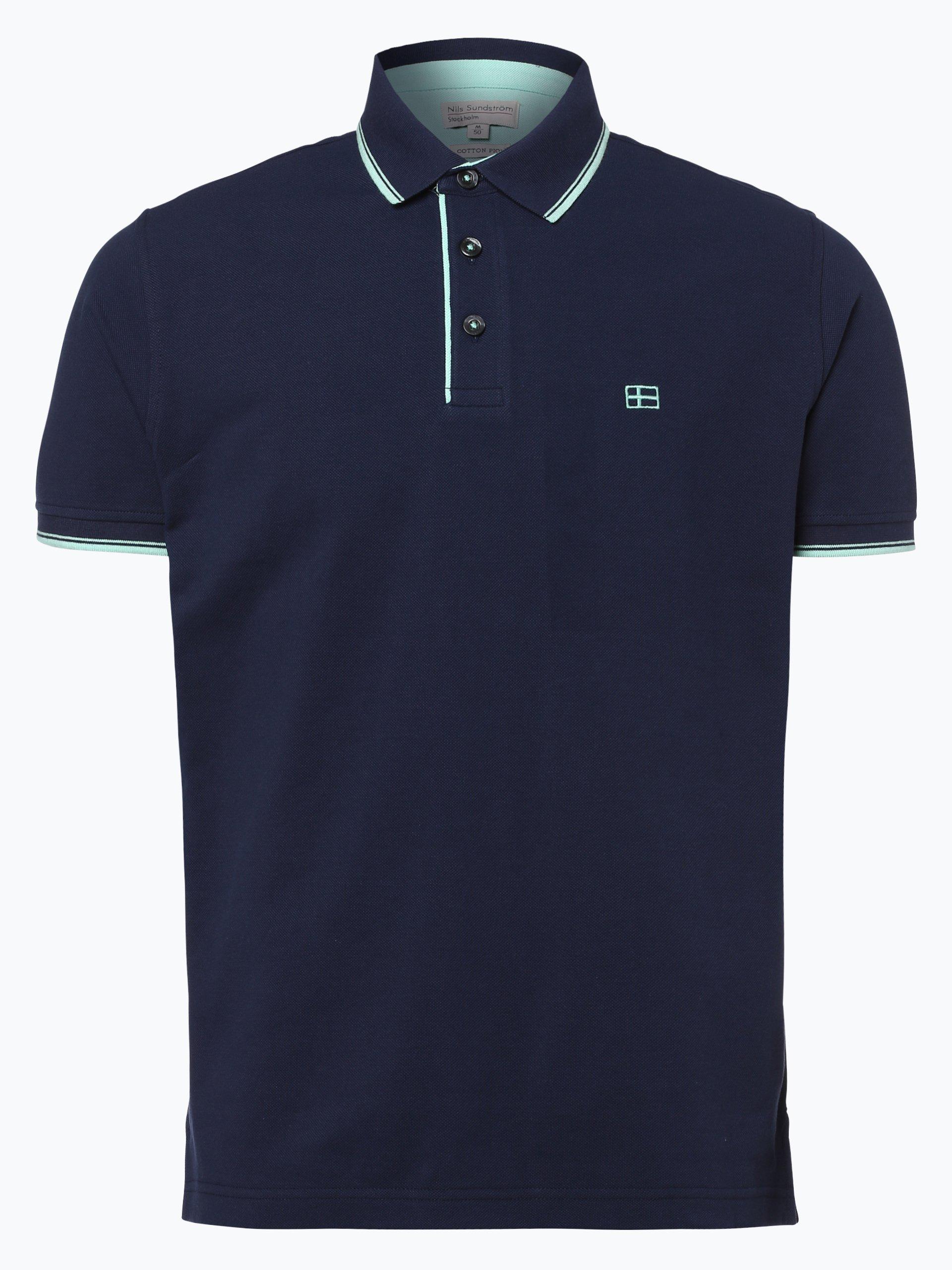 Nils Sundström Męska koszulka polo