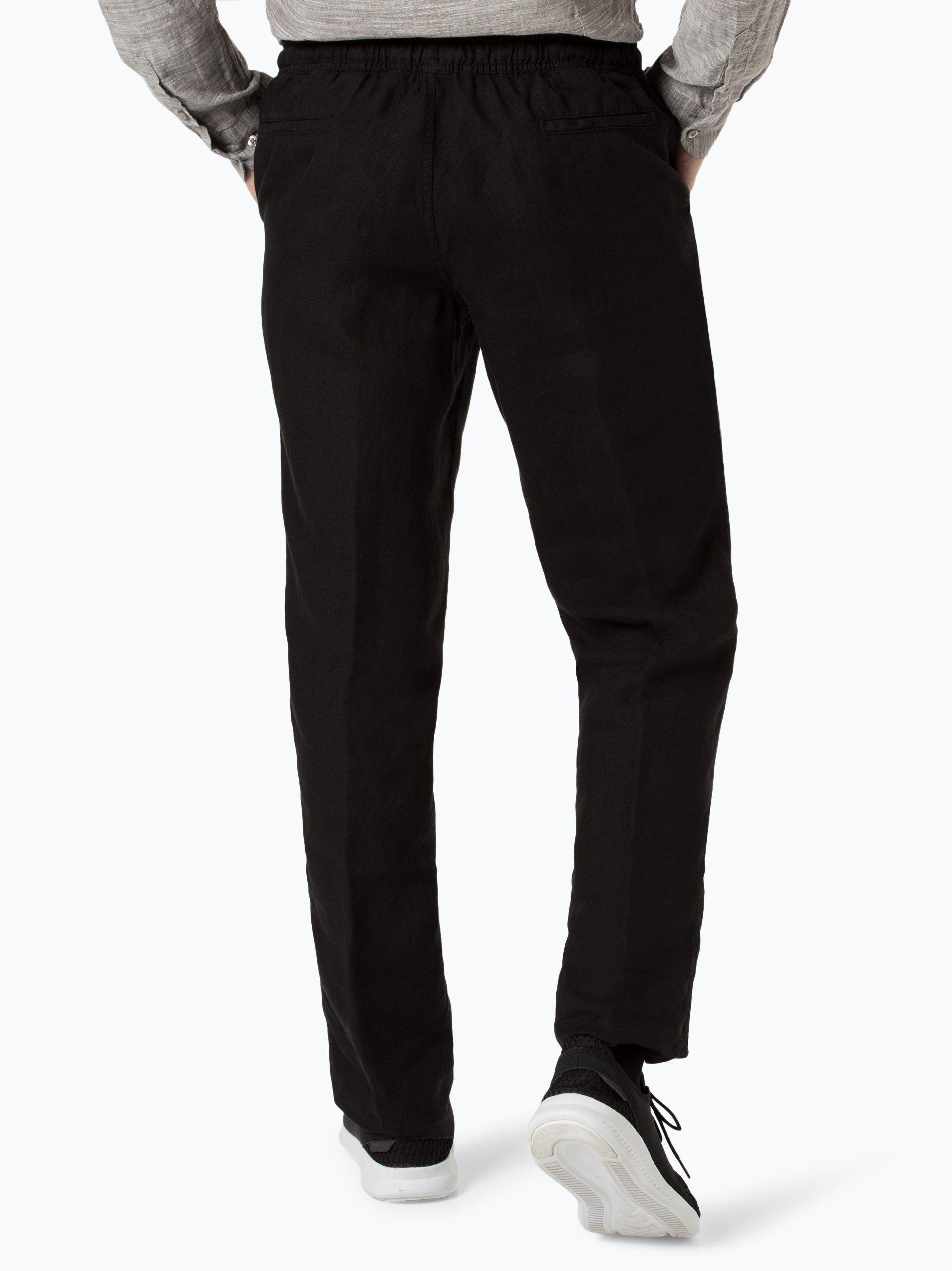 Nils Sundström Męskie spodnie lniane