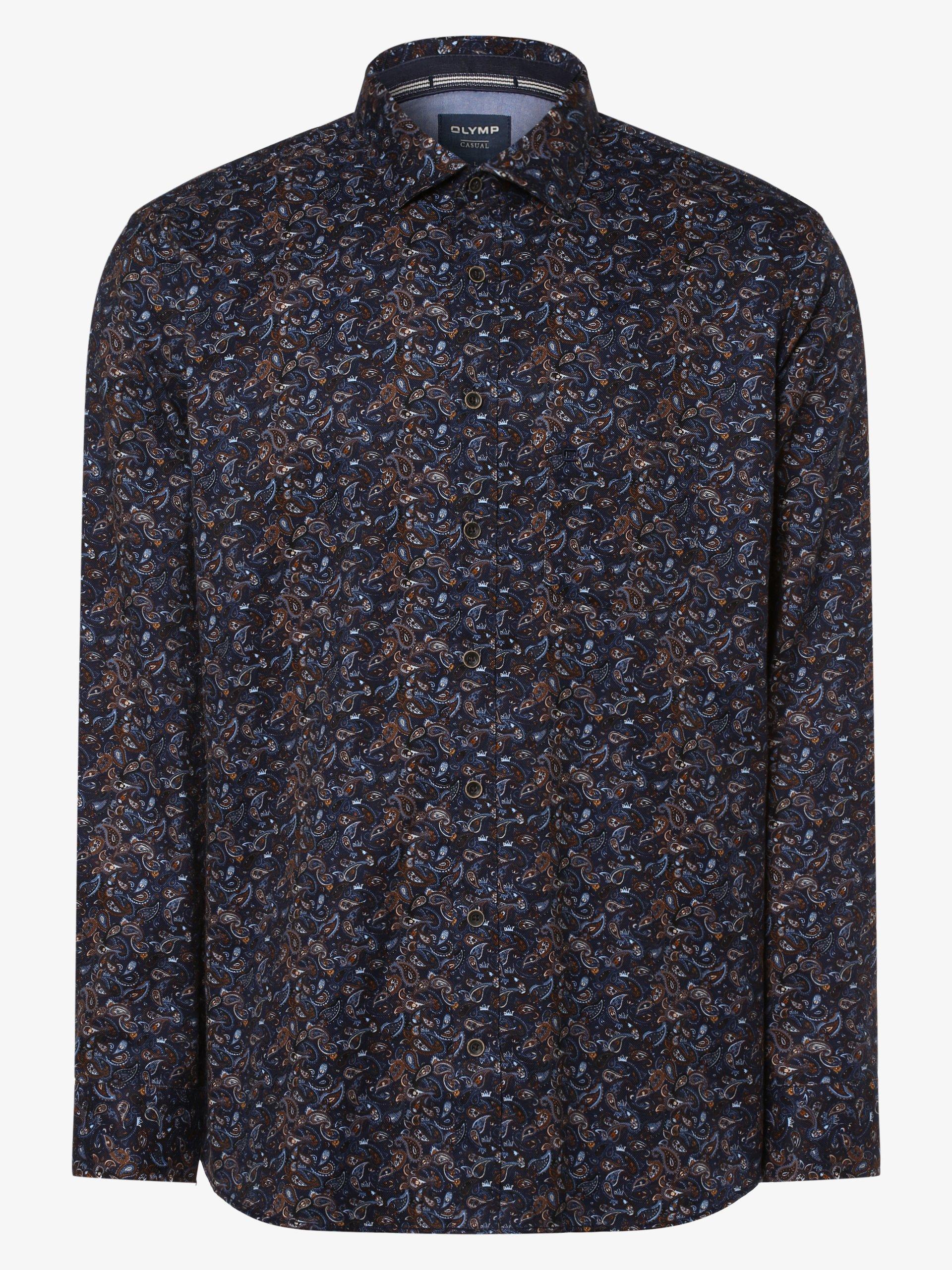 OLYMP Casual modern fit Koszula męska – Two Ply