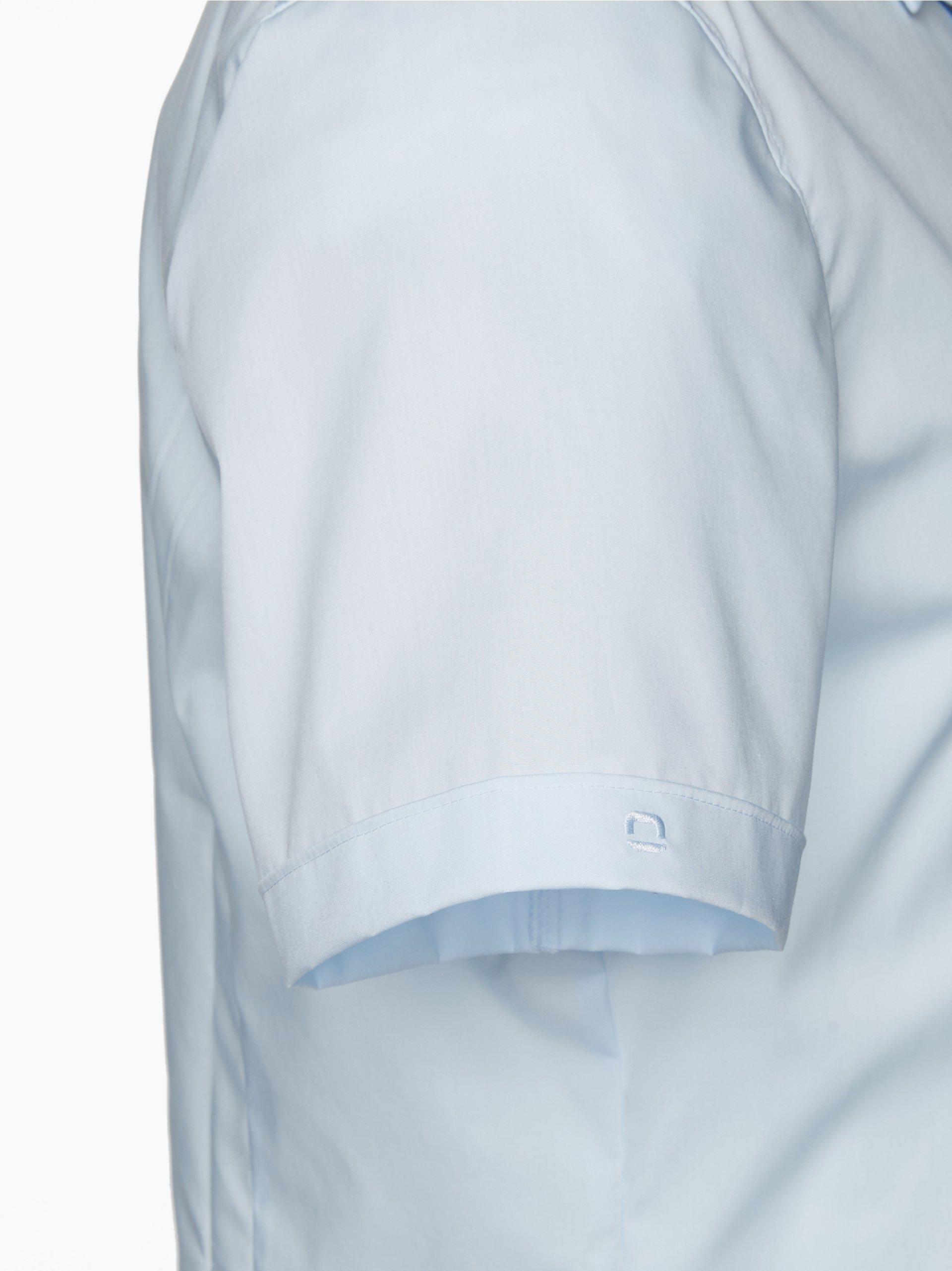 olymp level 5 olymp level five hemd body fit hellblau uni. Black Bedroom Furniture Sets. Home Design Ideas