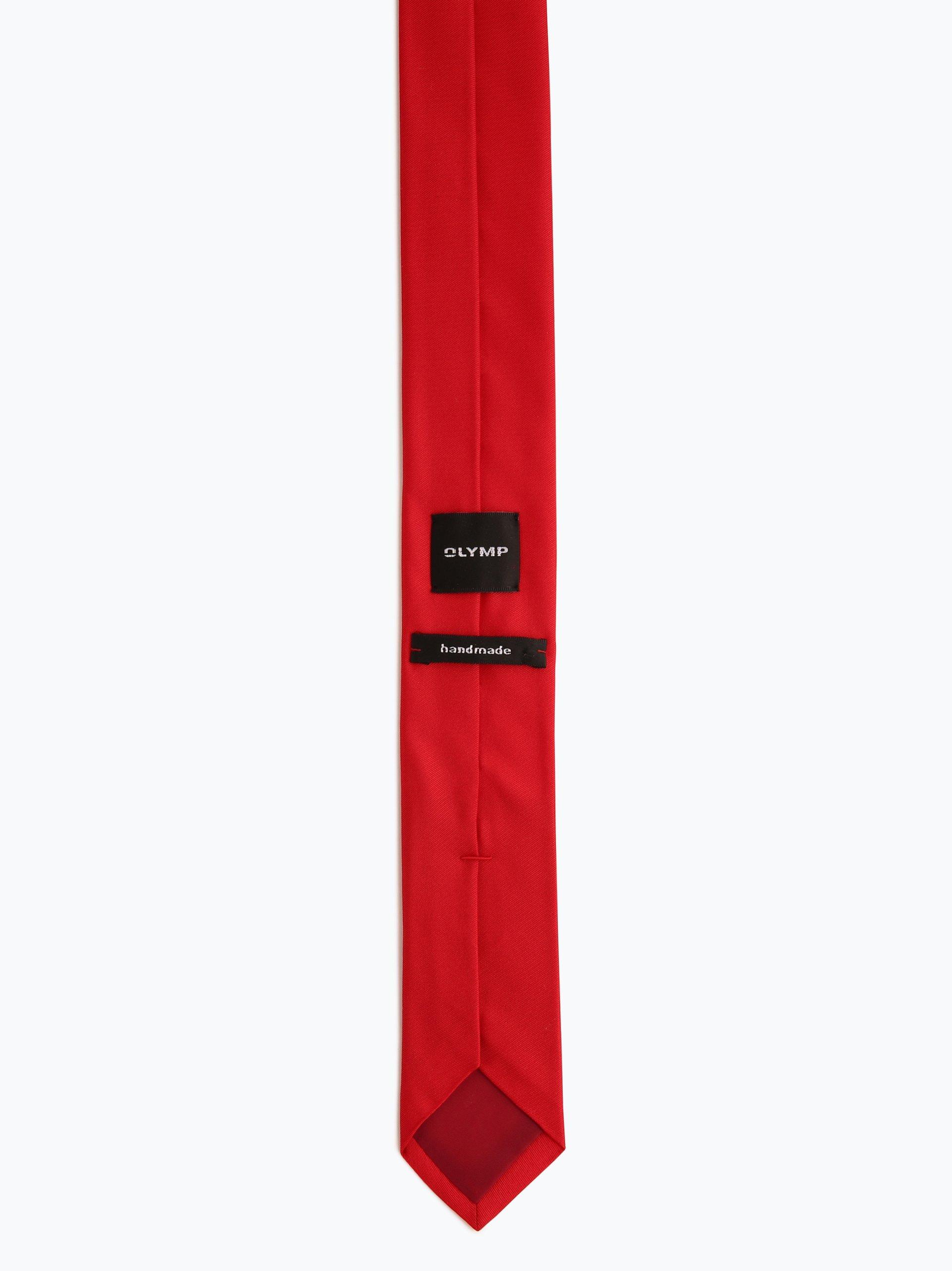 Olymp Level Five Krawat jedwabny męski