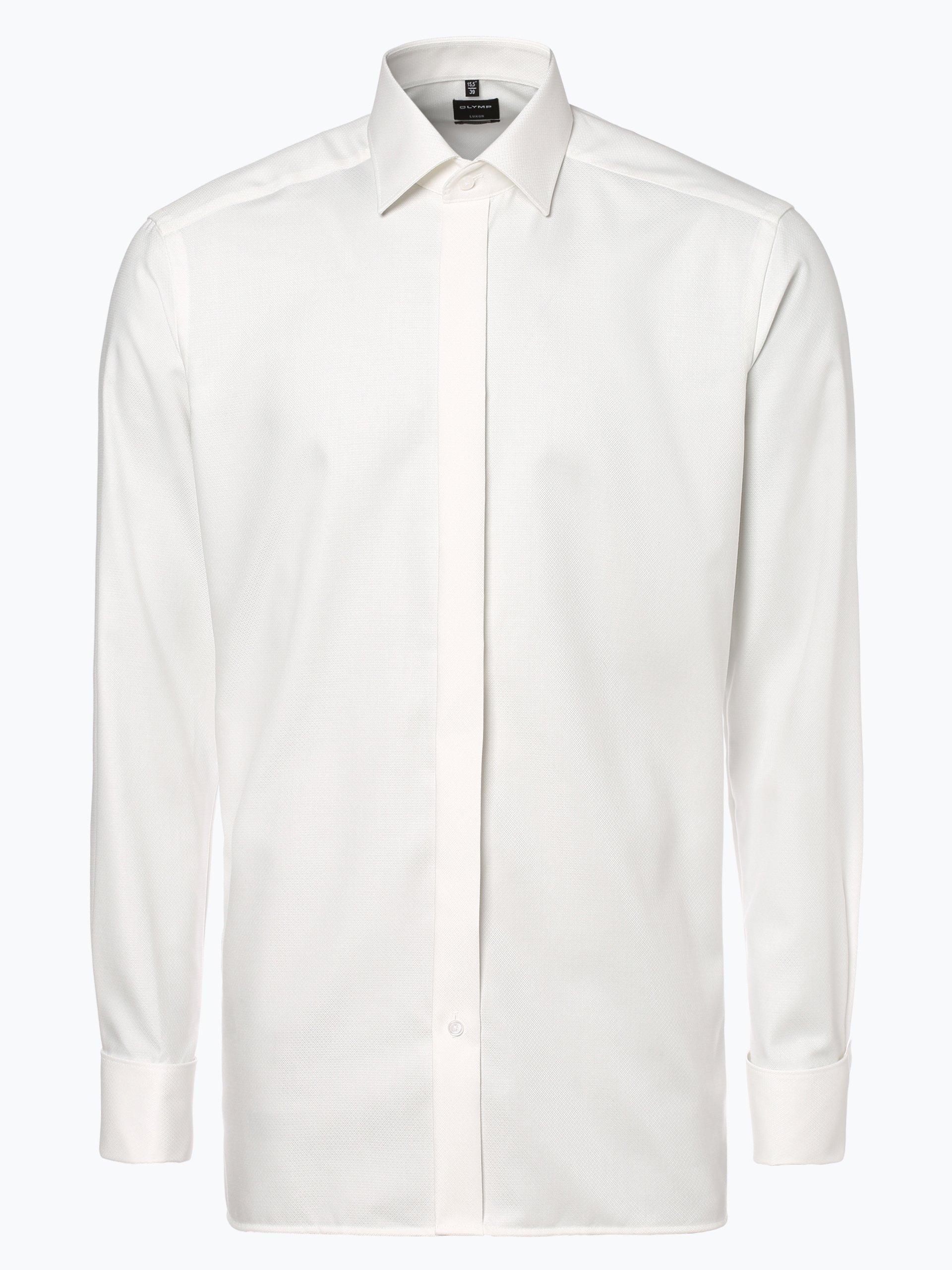 OLYMP Luxor modern fit Herren Hemd mit Umschlagmanschetten