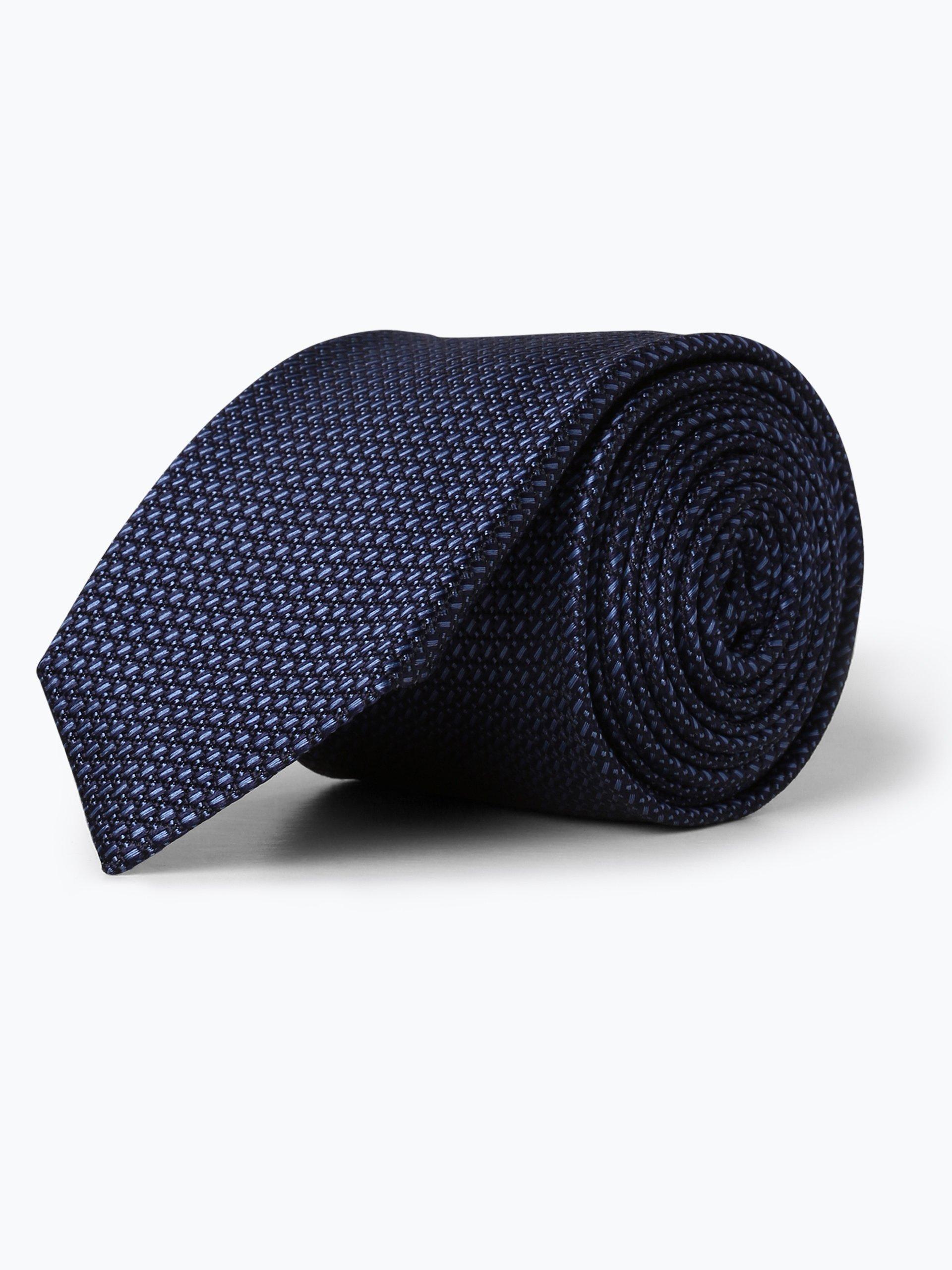 OLYMP Luxor modern fit Herren Krawatte aus Seide
