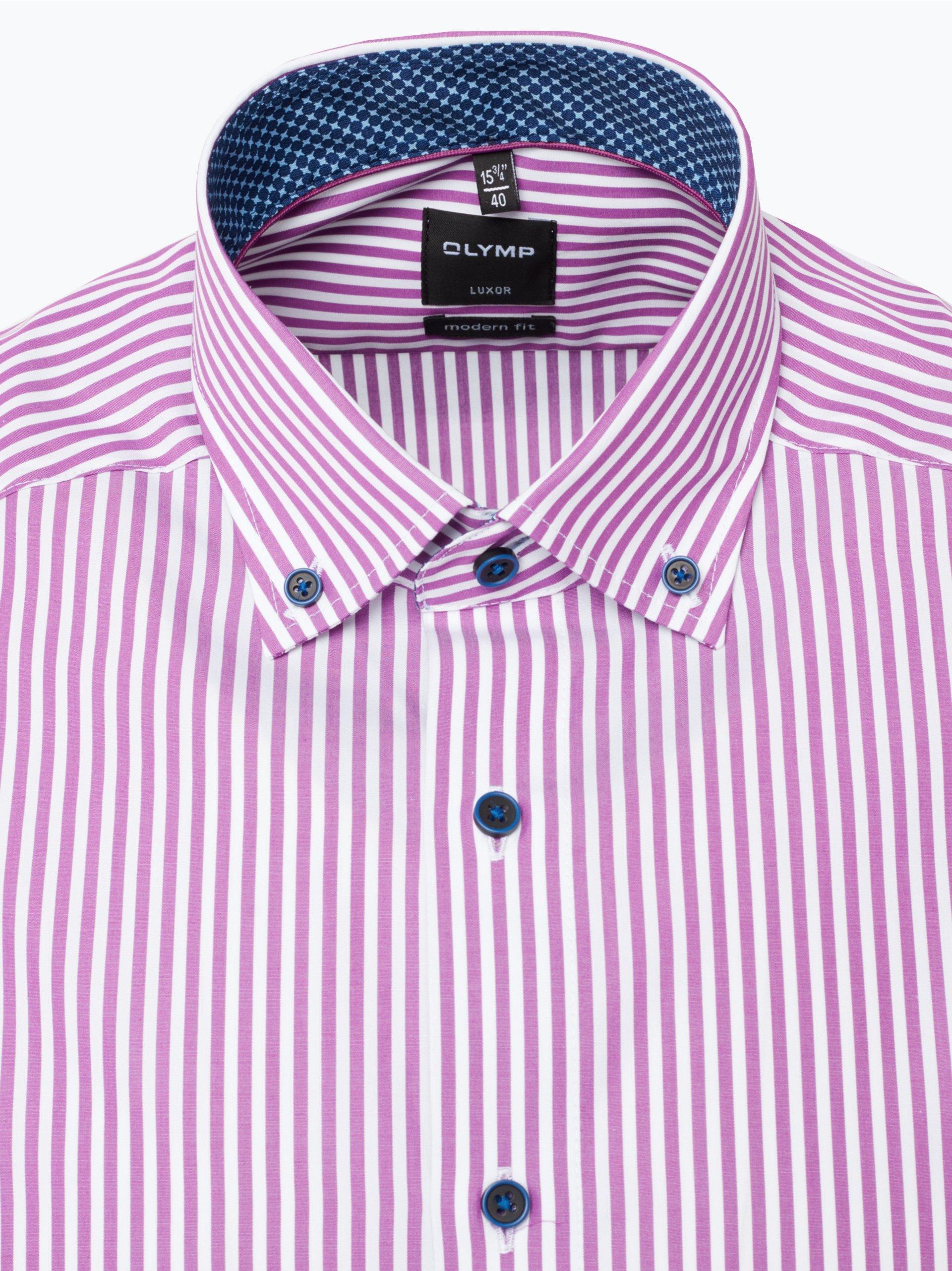Olymp Modern Fit Koszula męska niewymagająca prasowania