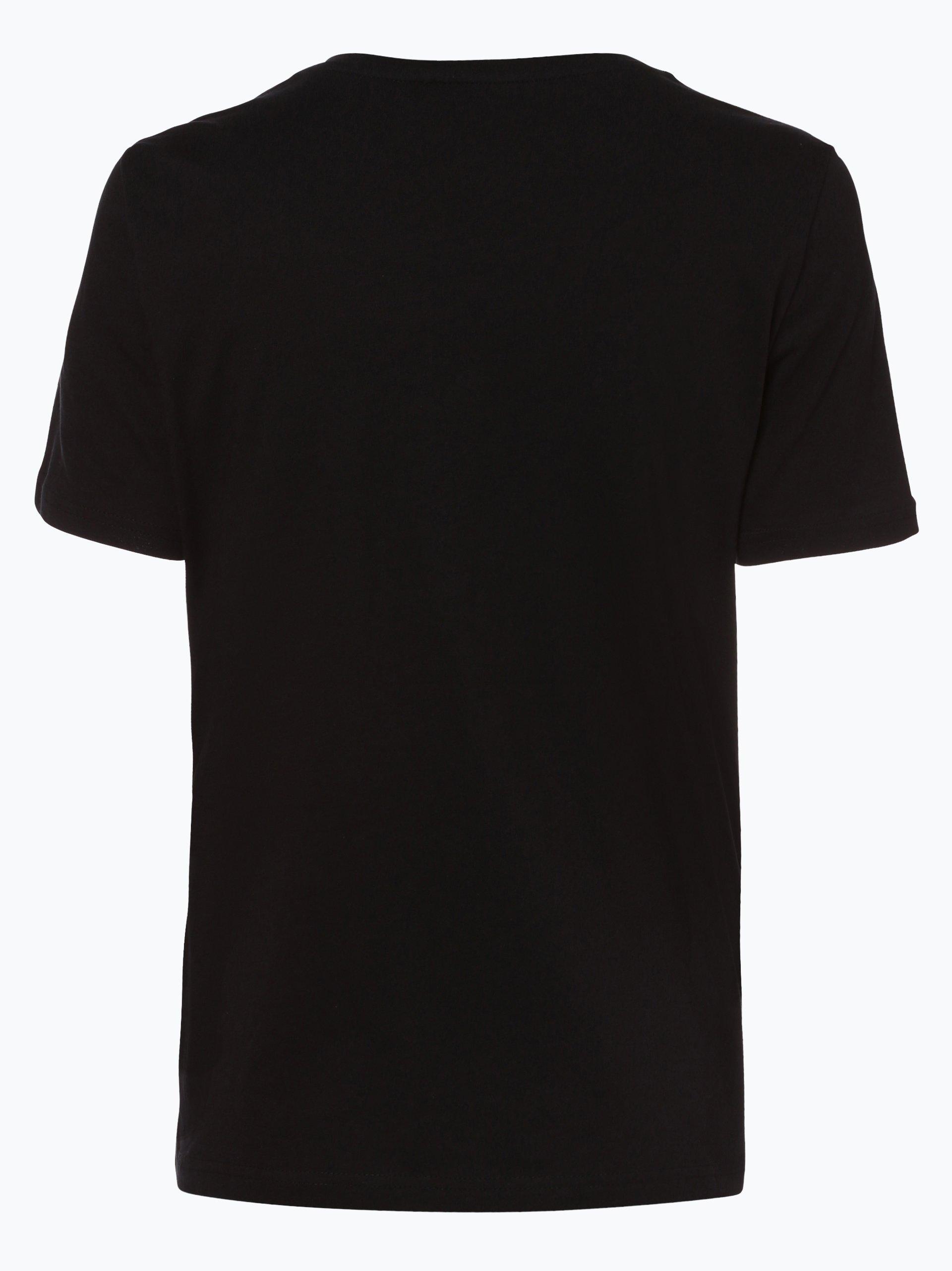 only damen t shirt rolling stones schwarz gemustert online kaufen peek und cloppenburg de. Black Bedroom Furniture Sets. Home Design Ideas