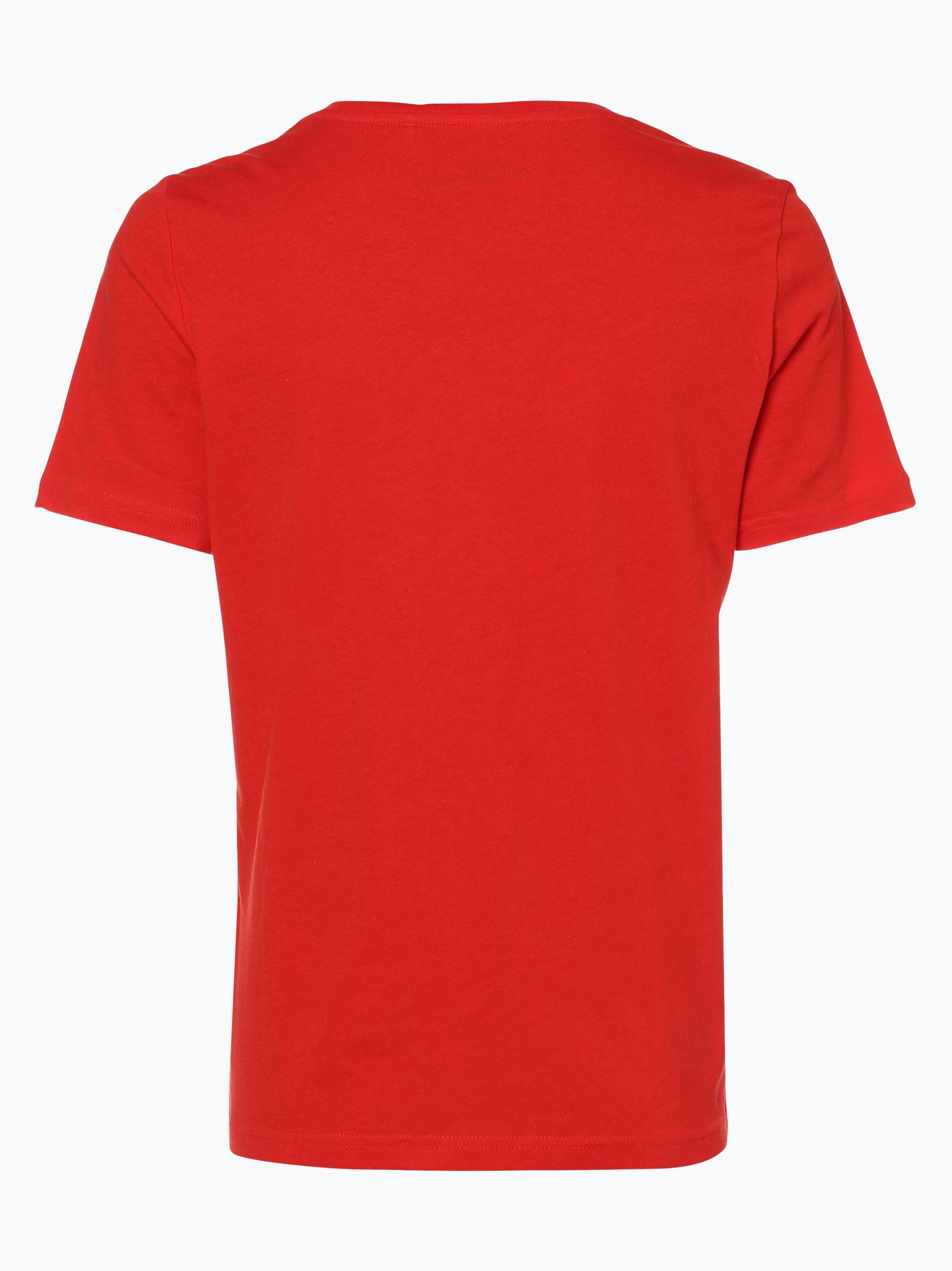 only damen t shirt rolling stones rot bedruckt online kaufen vangraaf com. Black Bedroom Furniture Sets. Home Design Ideas