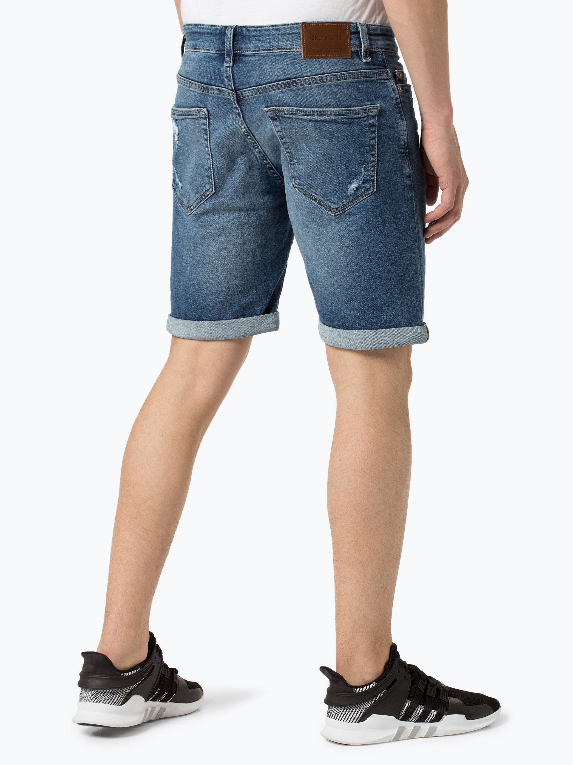 Only&Sons Herren Jeansshorts