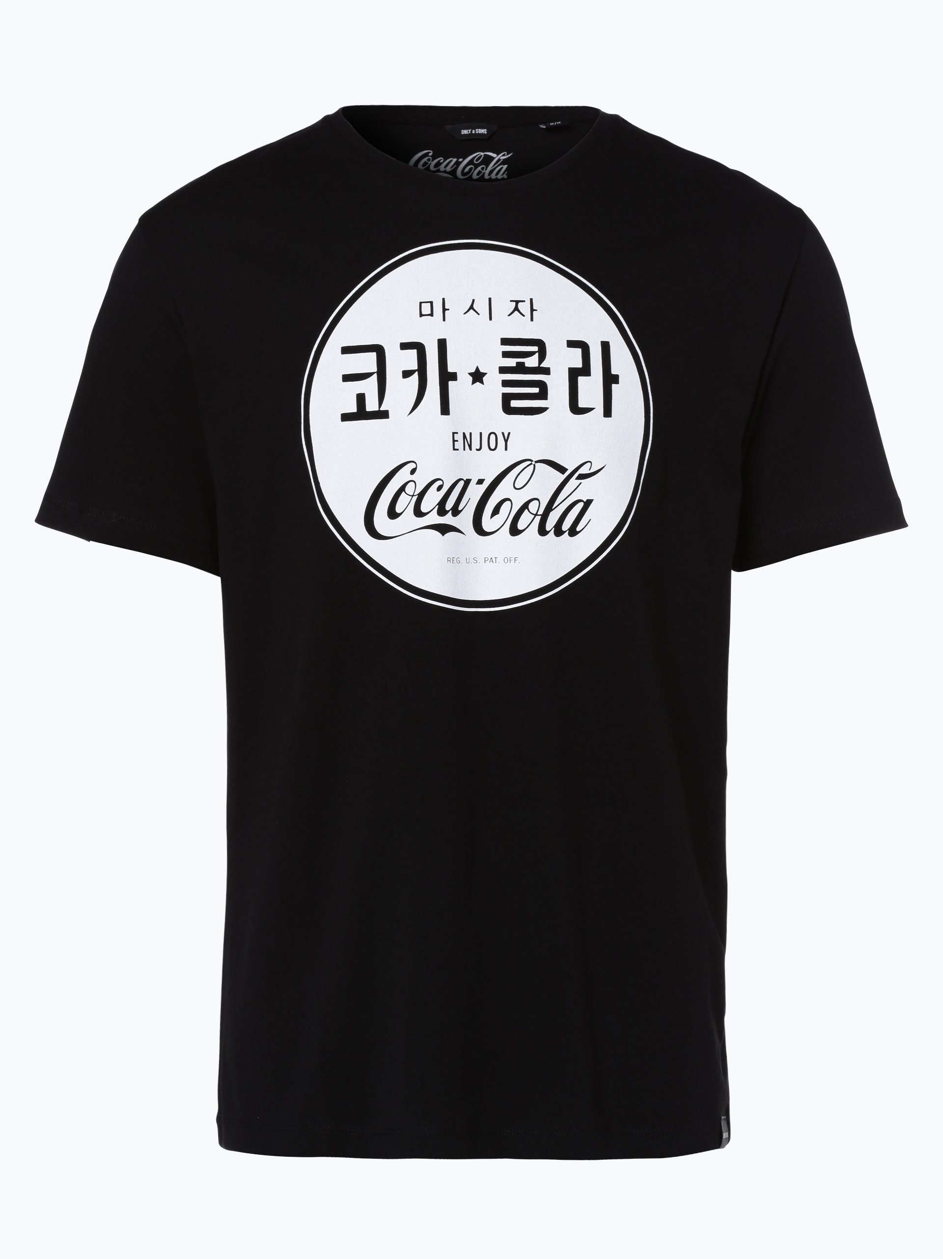 Only&Sons Herren T-Shirt - Coca Cola Vintage Tee