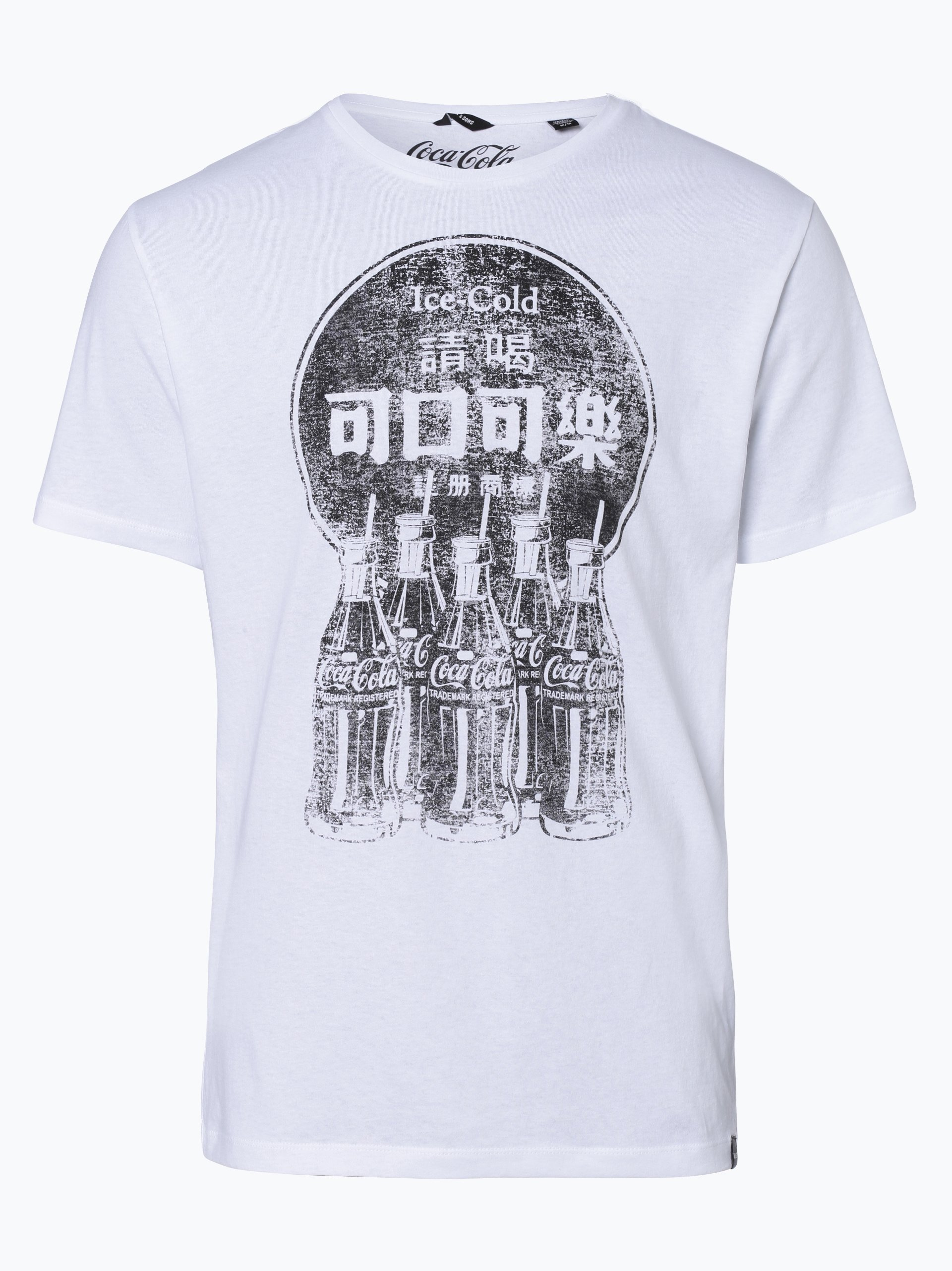 Only&Sons T-shirt męski – Coca Cola Vintage Tee