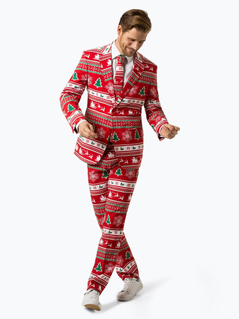 96e86cfc69b81 OppoSuits Garnitur męski z krawatem – Winter Wonderland kup online ...