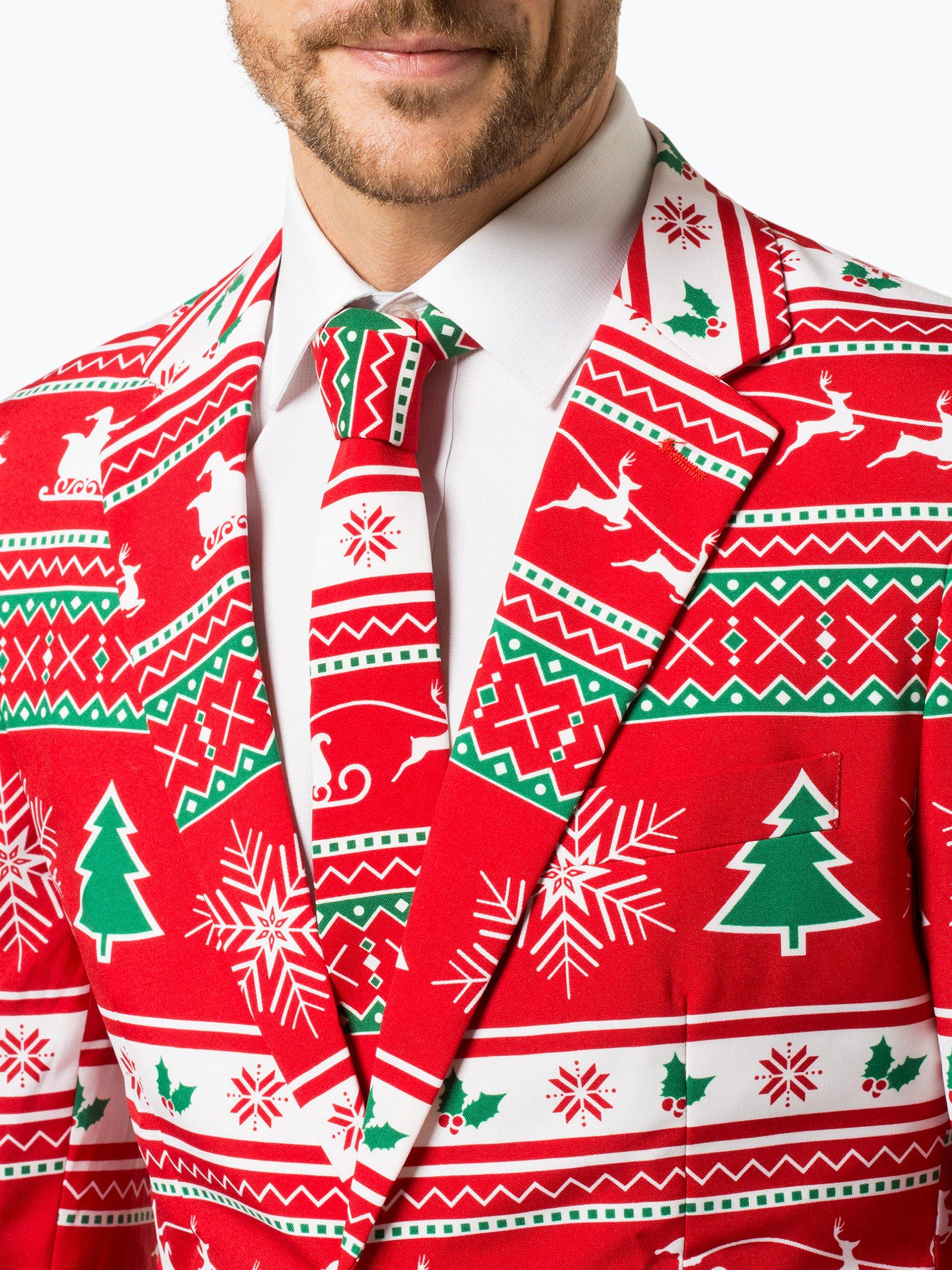 55c1daeddebc0 OppoSuits Garnitur męski z krawatem – Winter Wonderland kup online ...