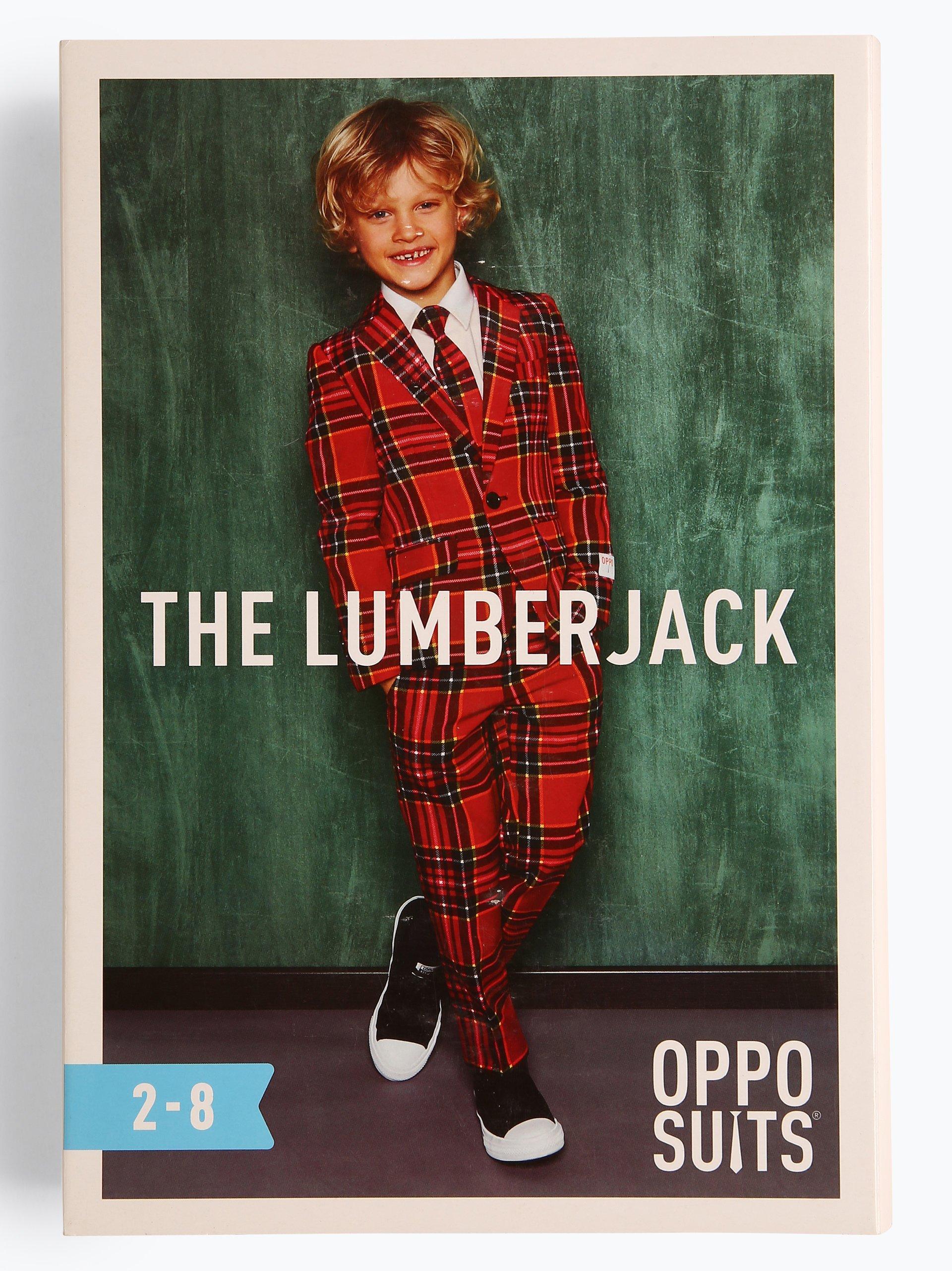 OppoSuits Jungen Anzug mit Krawatte - The Lumberjack