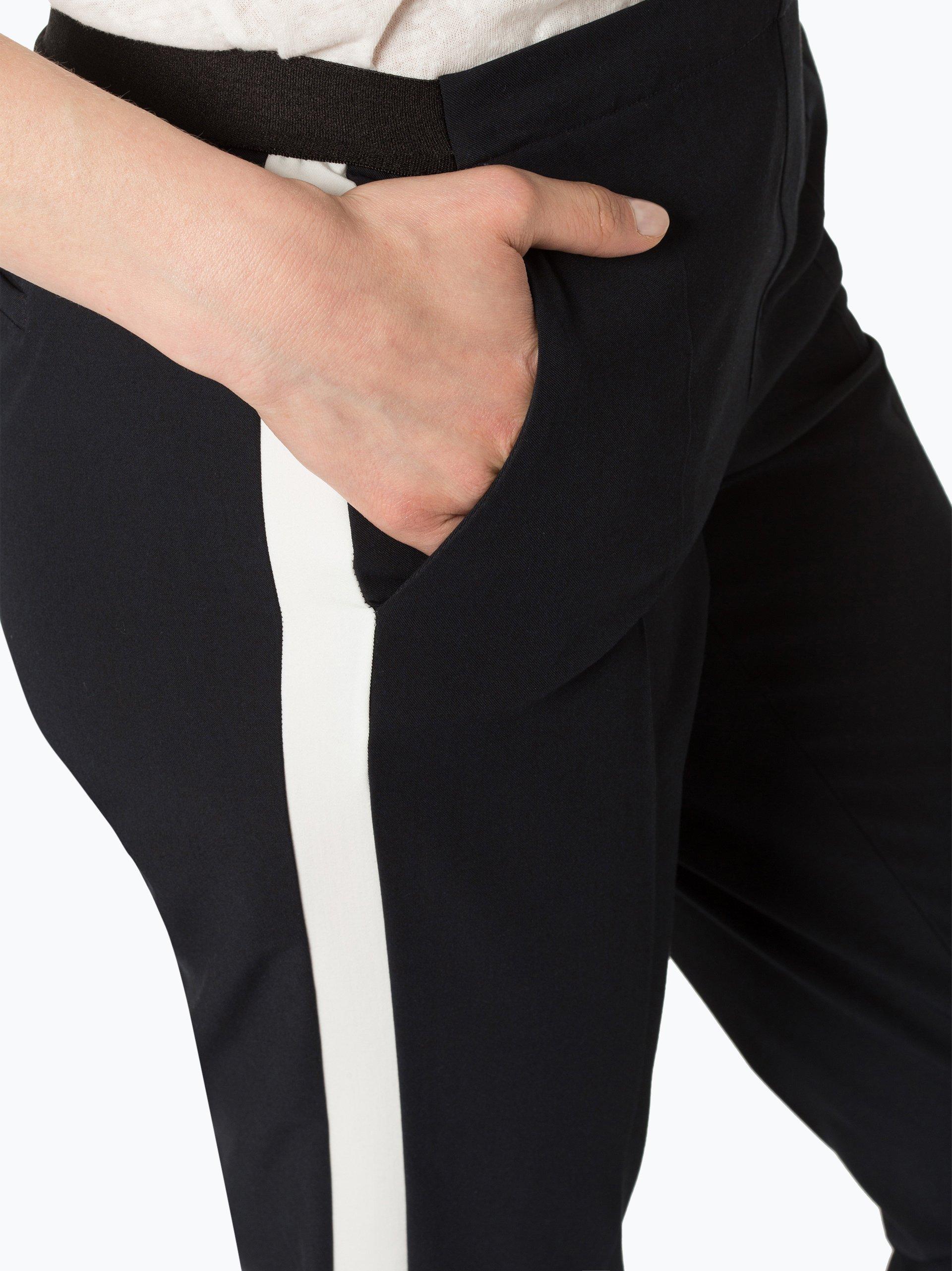 Opus Damen Hose - Edira Solid Stripe