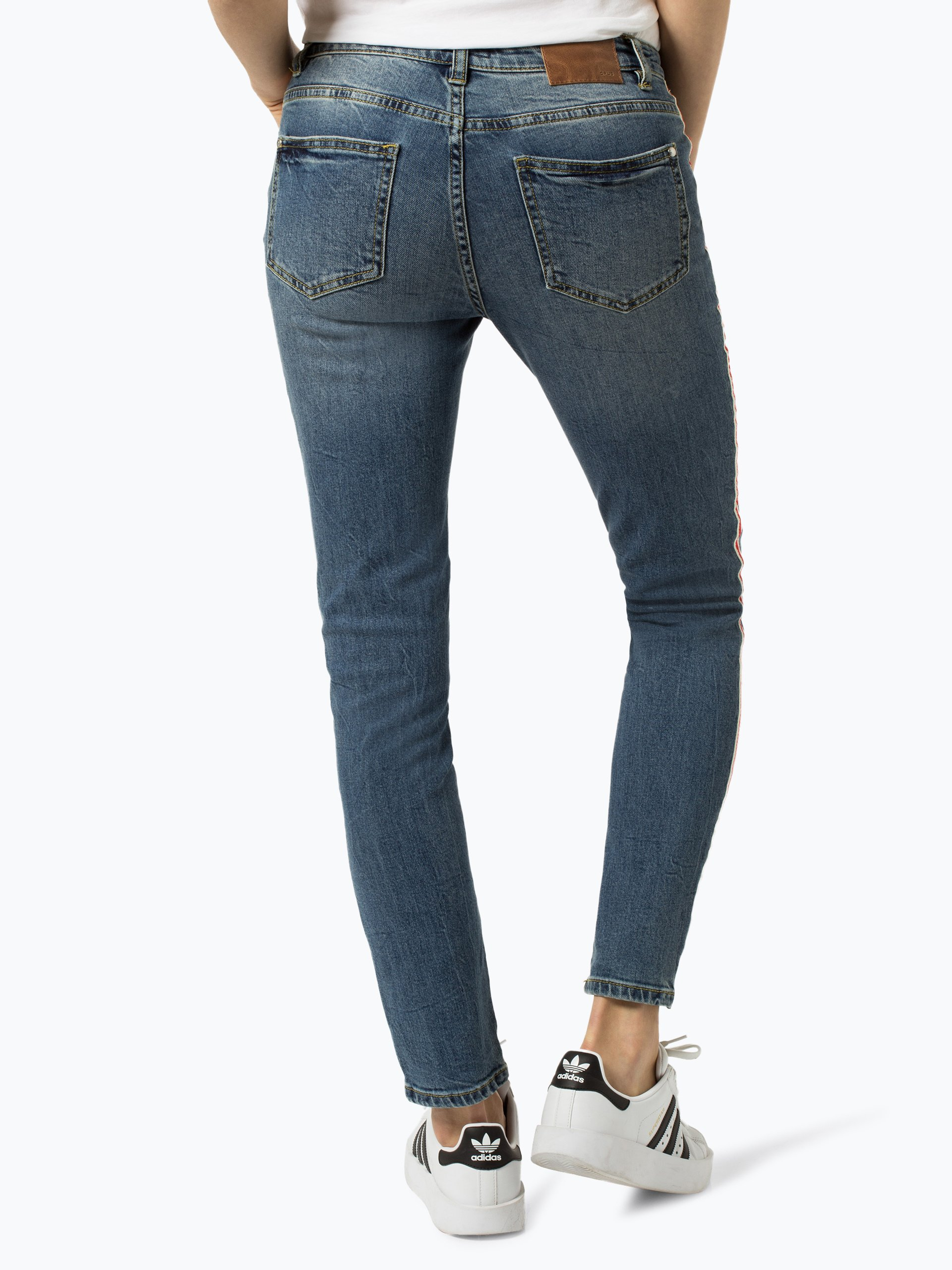 Opus Damen Jeans - Ely Red Stripe