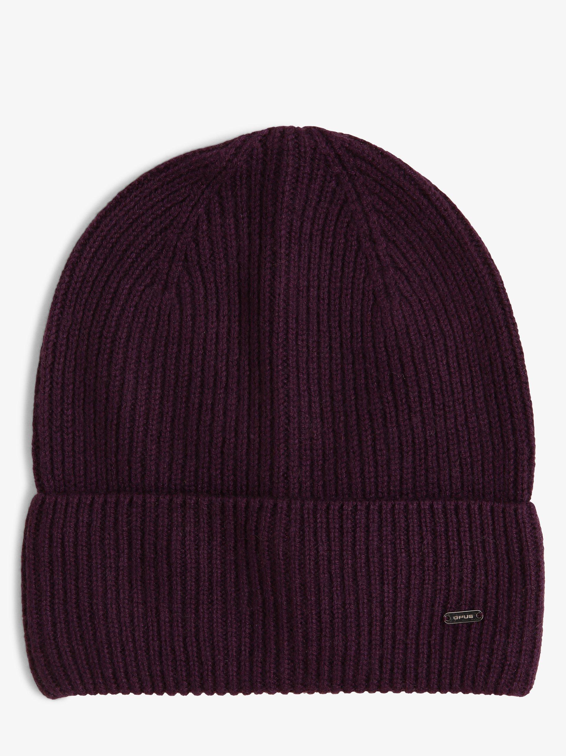 Opus Damen Mütze mit Cashmere-Anteil - Alasi cap