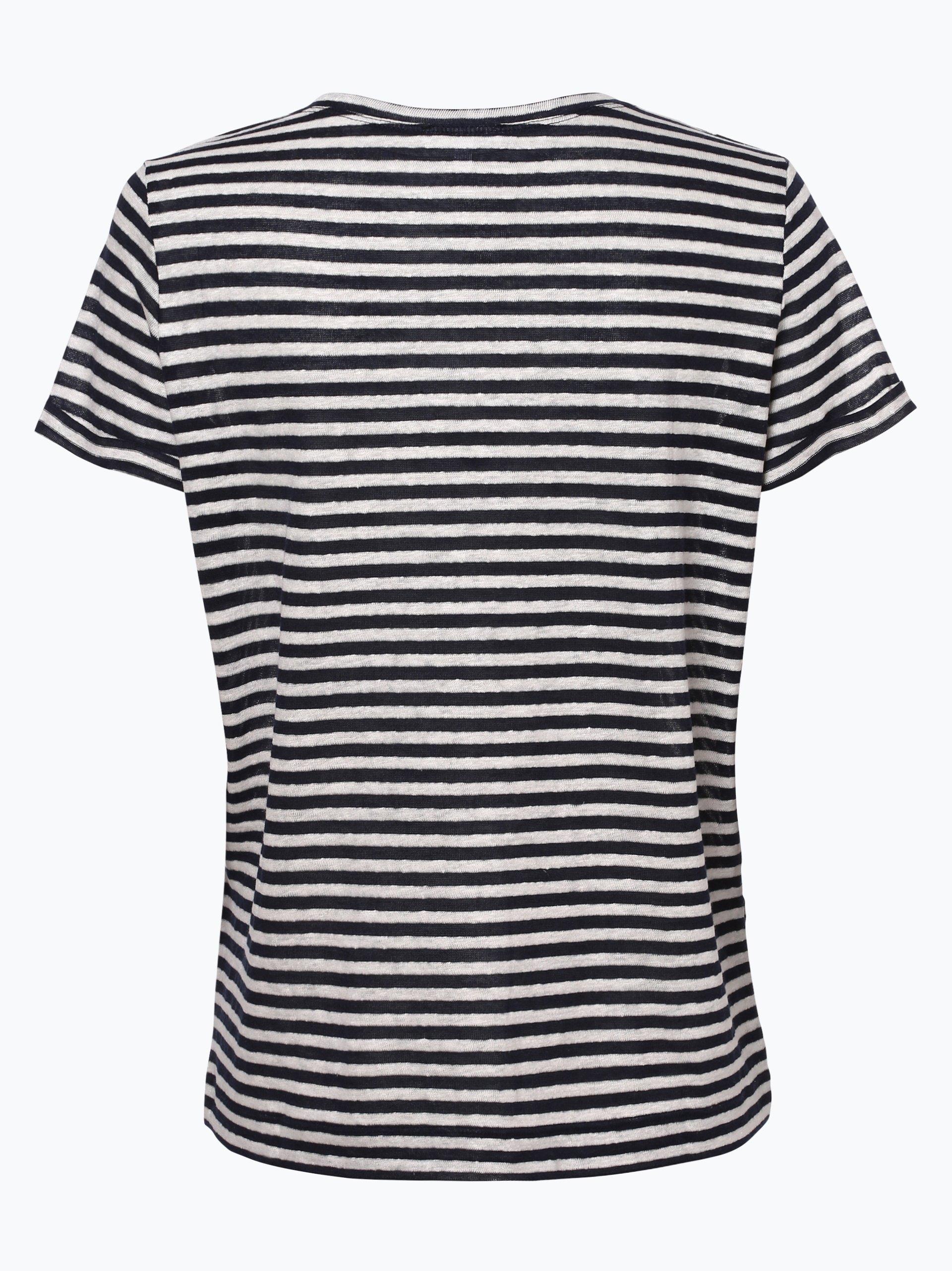 Opus Damen T-Shirt mit Leinen-Anteil - Sesta