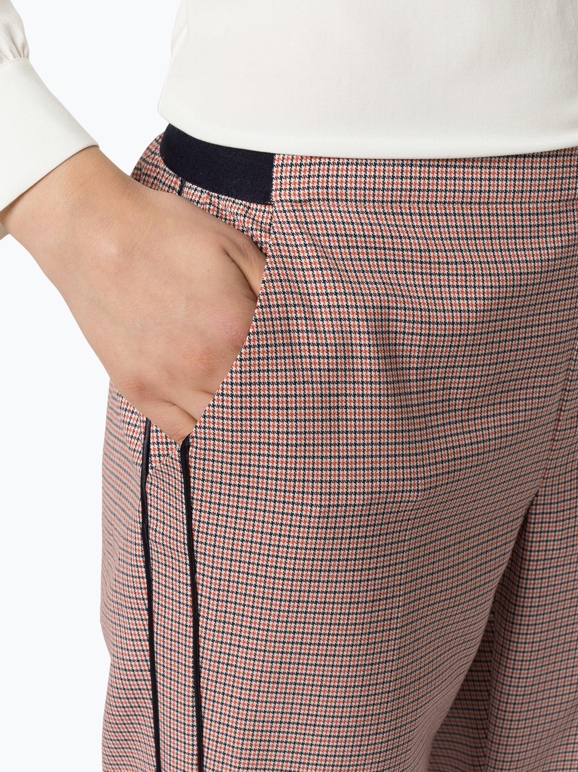 Opus Spodnie damskie – Edira Check